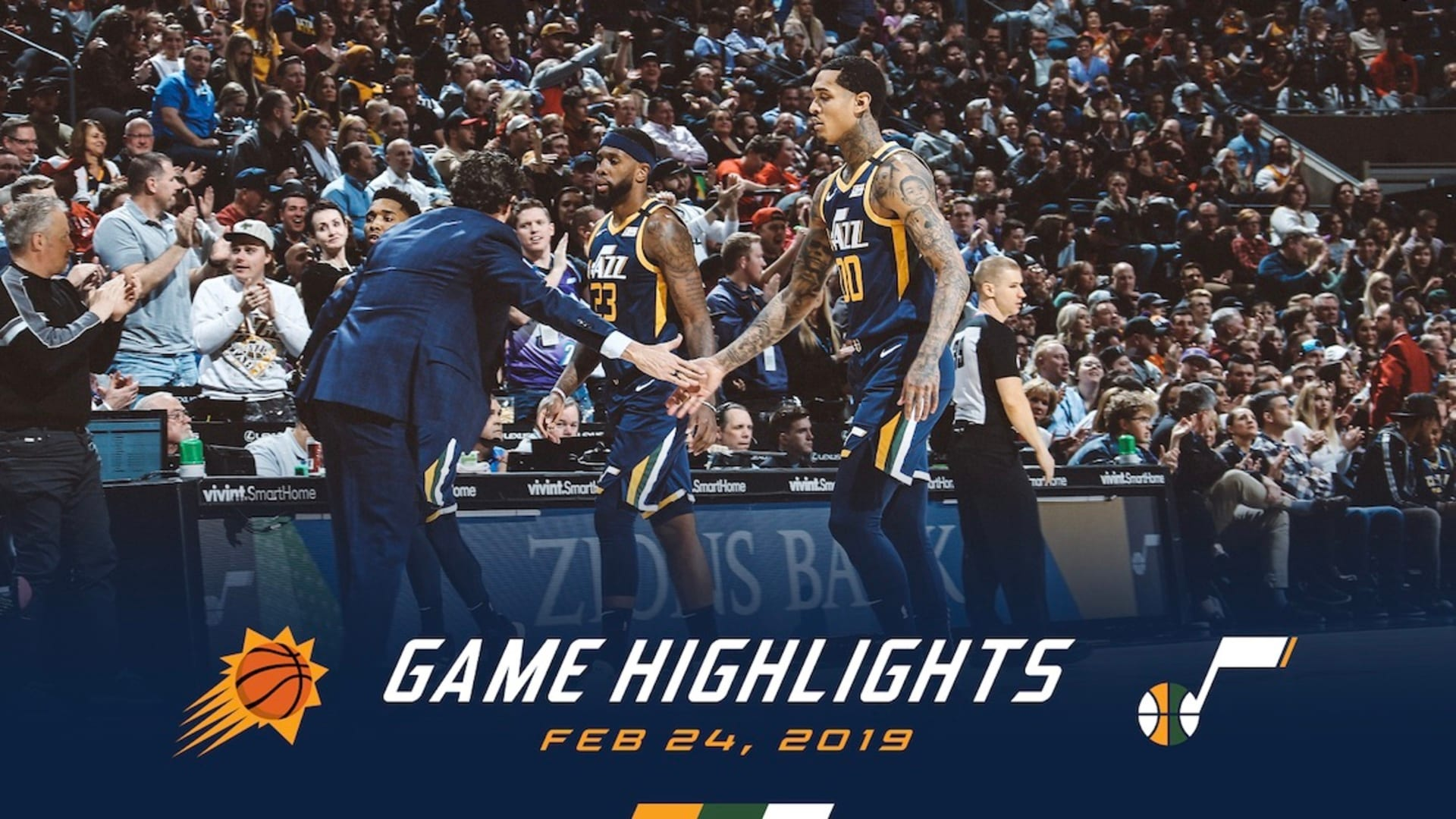 Highlights: Jazz 111 | Suns 131
