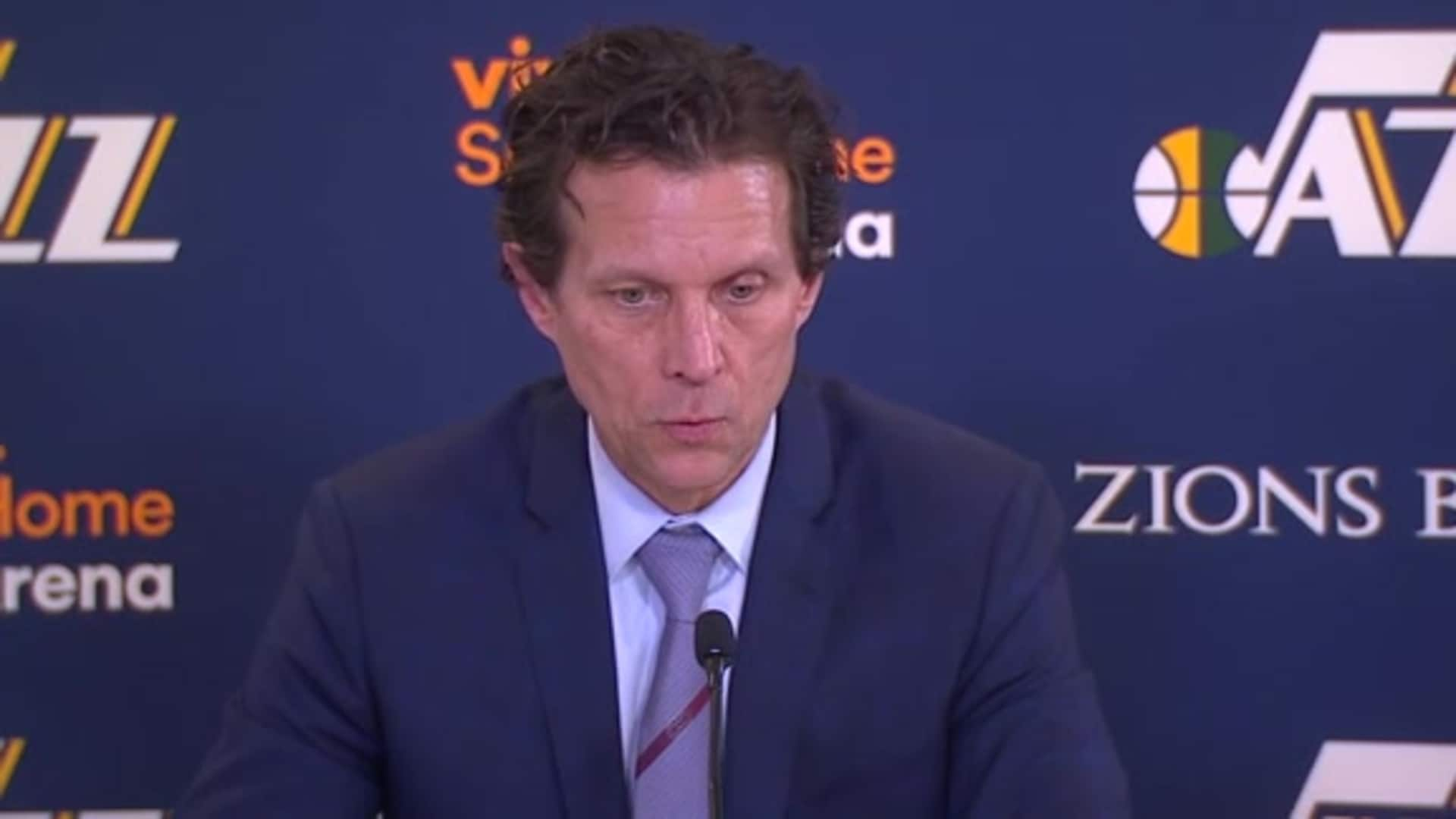 Postgame Interviews, 2.24 — Coach Quin Snyder