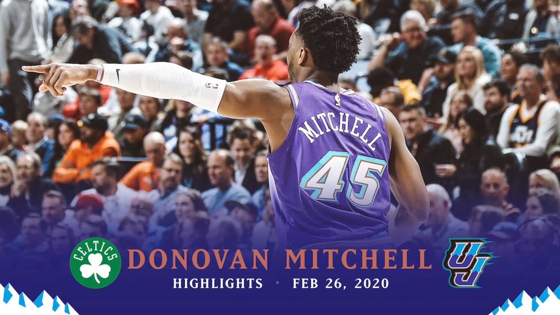 Highlights: Donovan Mitchell — 37 points, 2 3-pointers