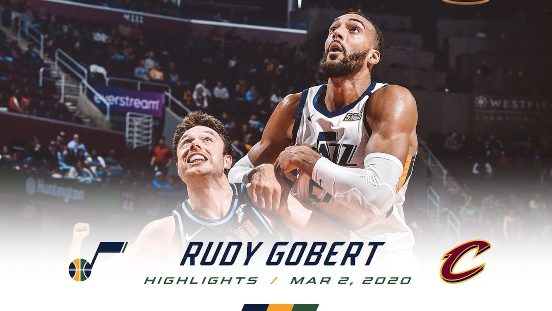 Highlights: Rudy Gobert — 20 points, 9 rebounds