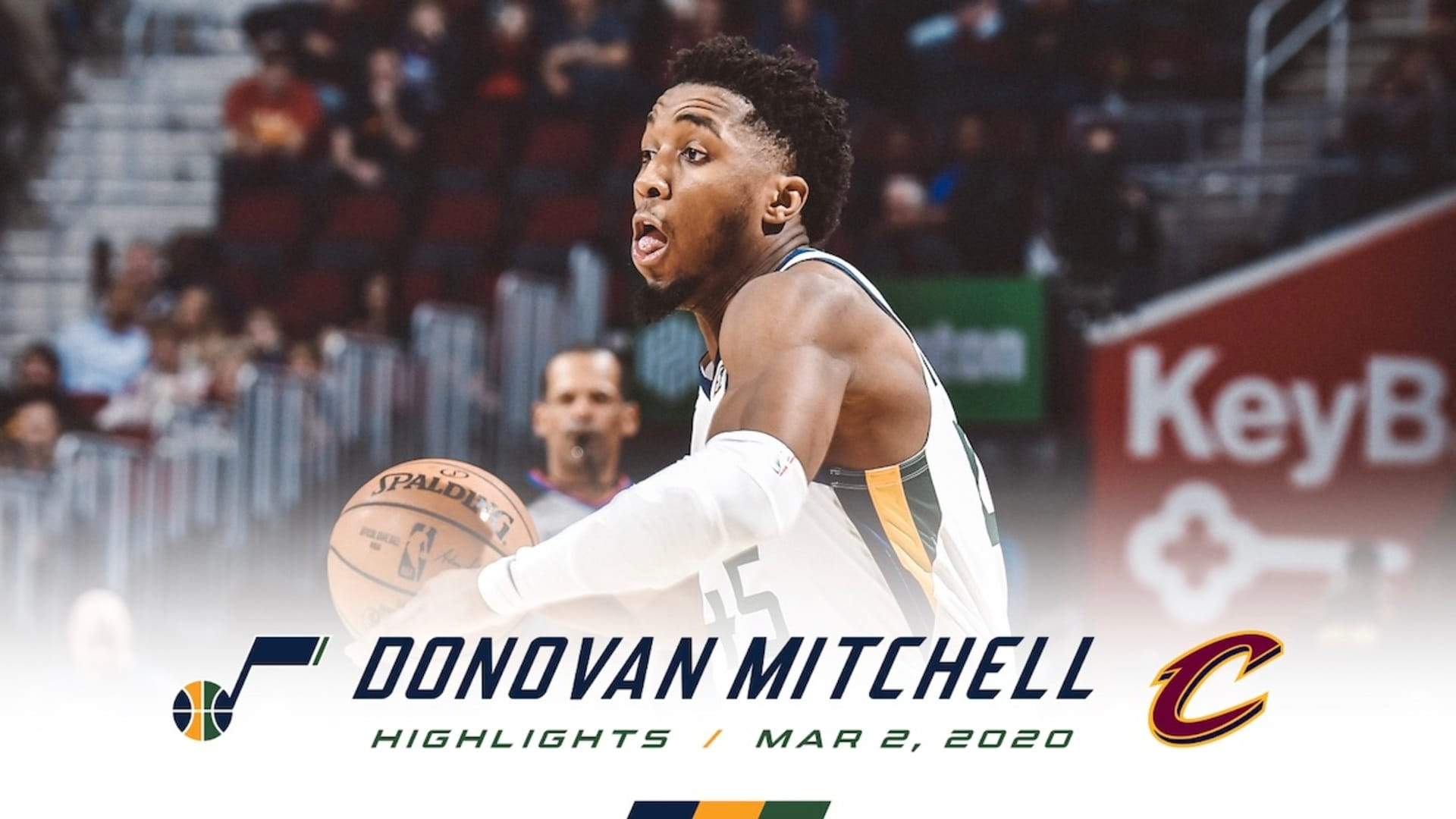 Highlights: Donovan Mitchell — 19 points, 9 rebounds