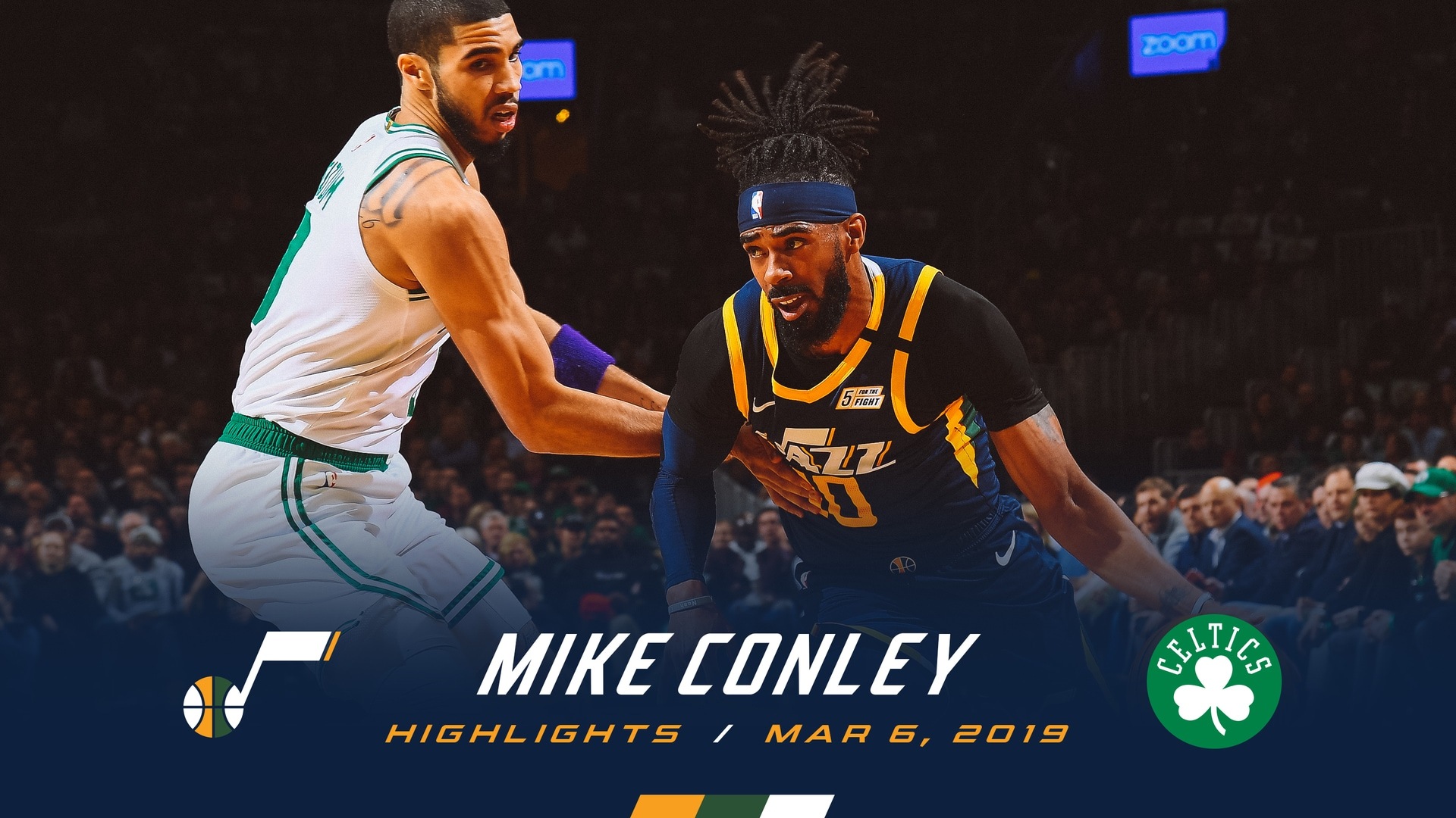 Highlights: Mike Conley—25 points, 6 3pm
