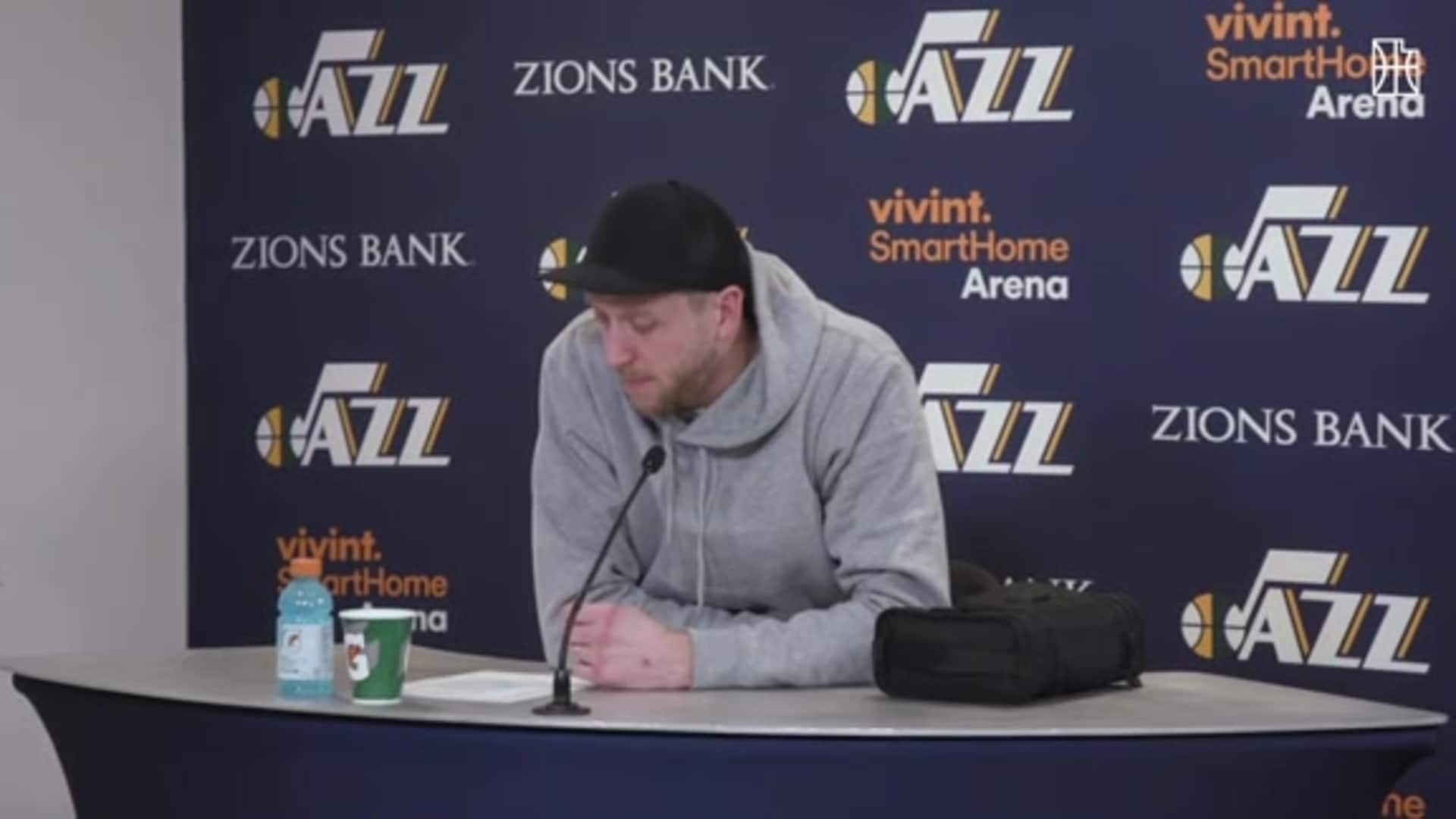 Joe Ingles Postgame—