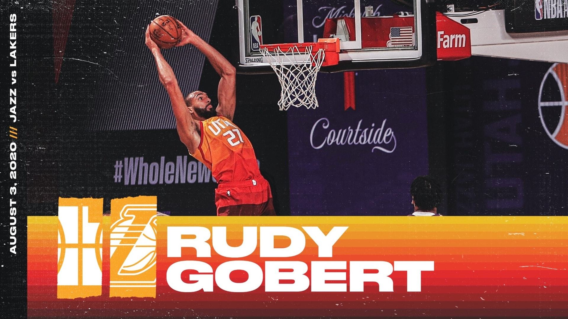 Highlights: Rudy Gobert—16 points, 13 rebounds