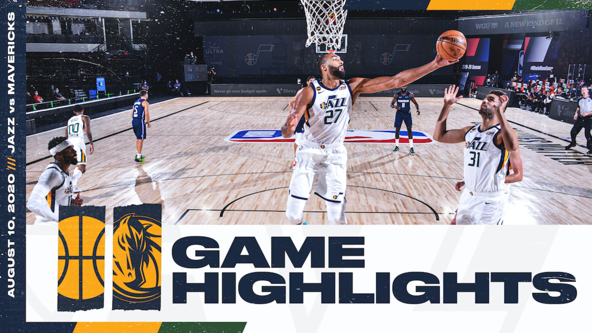 Highlights: Jazz 114 | Mavericks 122