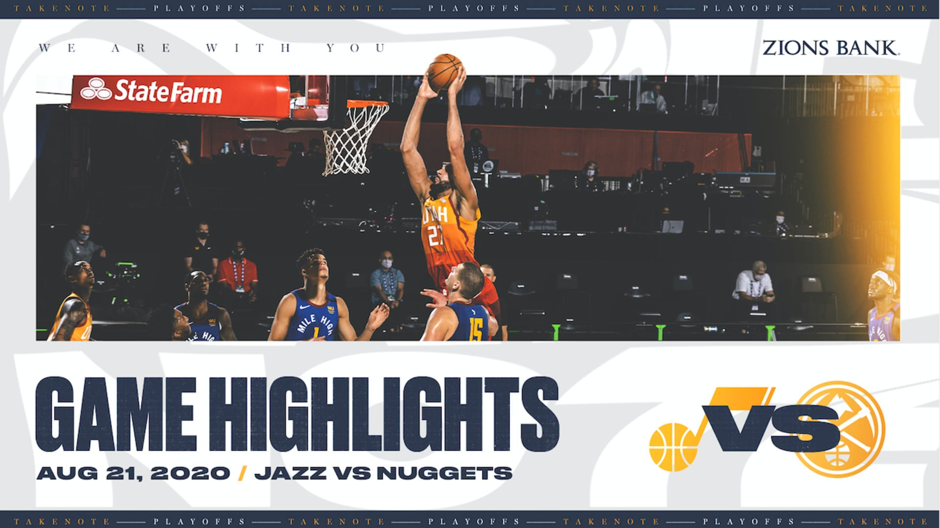 Highlights: Jazz 124 | Nuggets 87