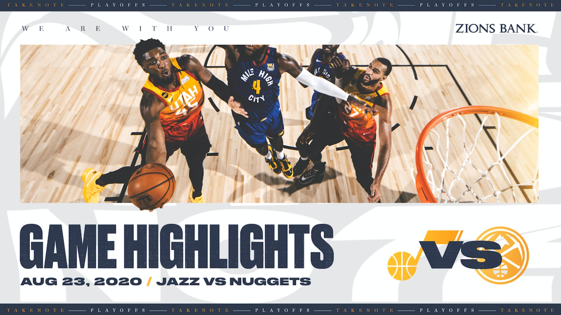 Highlights: Jazz 129 | Nuggets 127