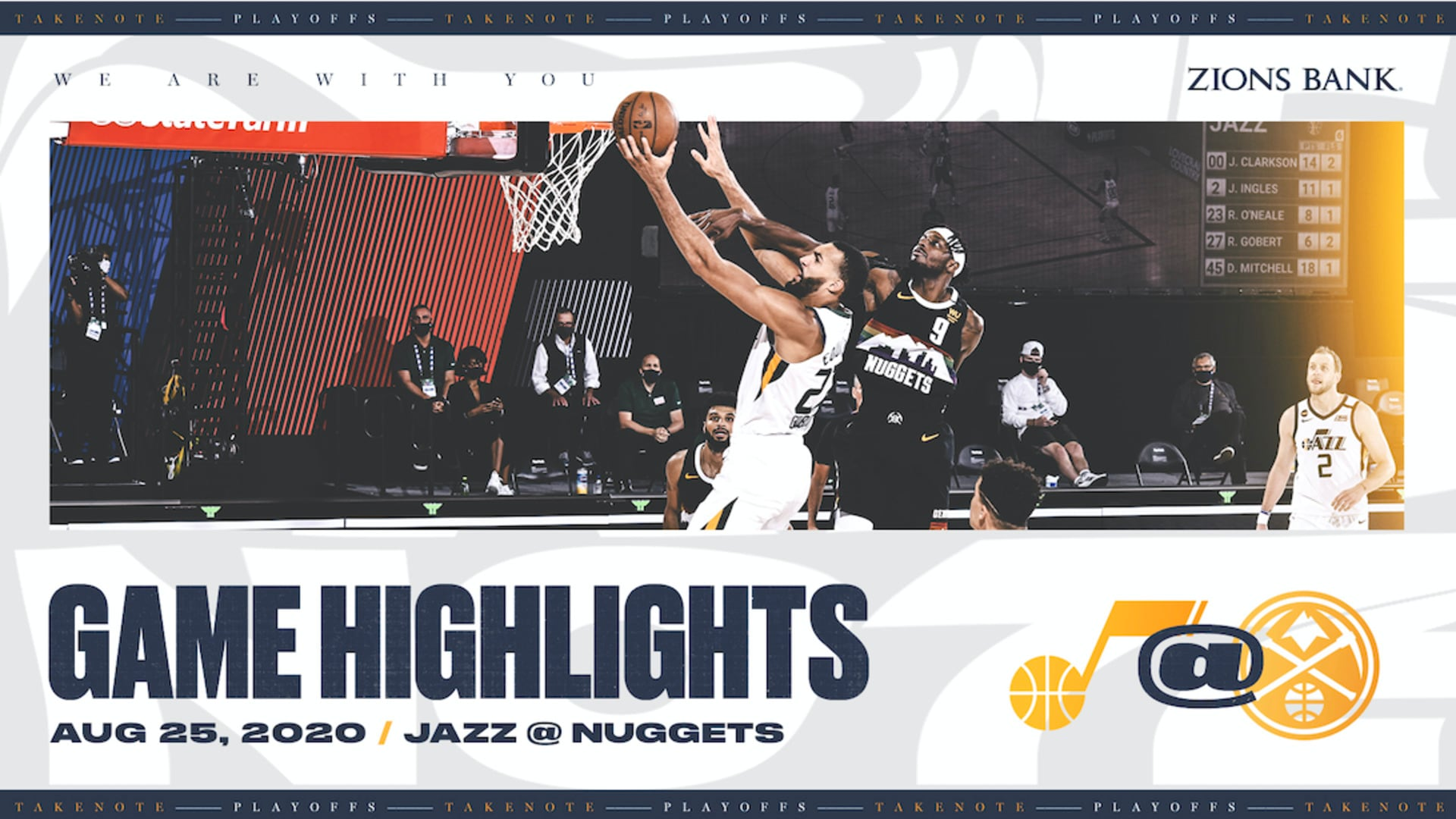 Highlights: Jazz 107 | Nuggets 117
