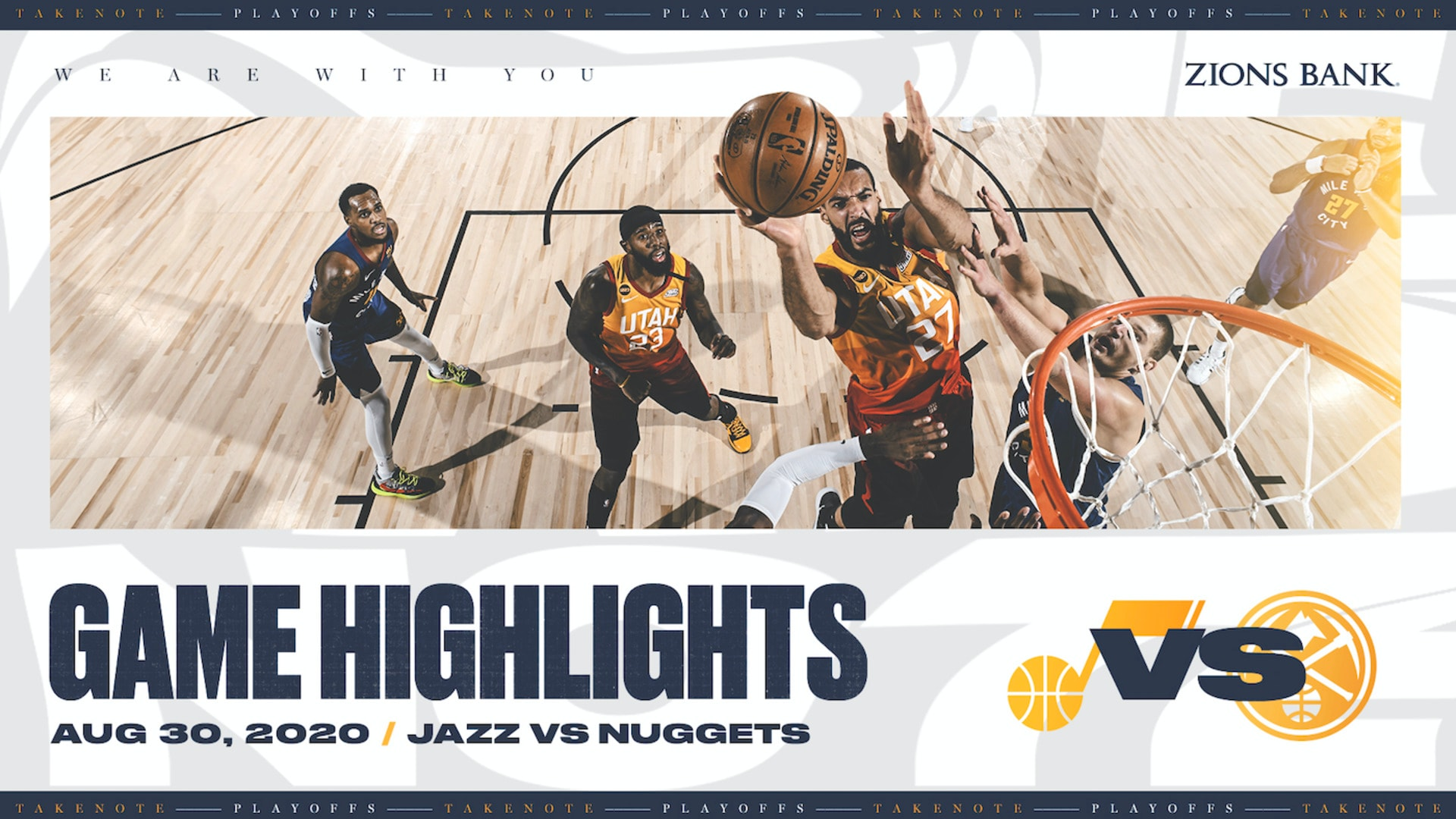 Highlights: Jazz 107 | Nuggets 119