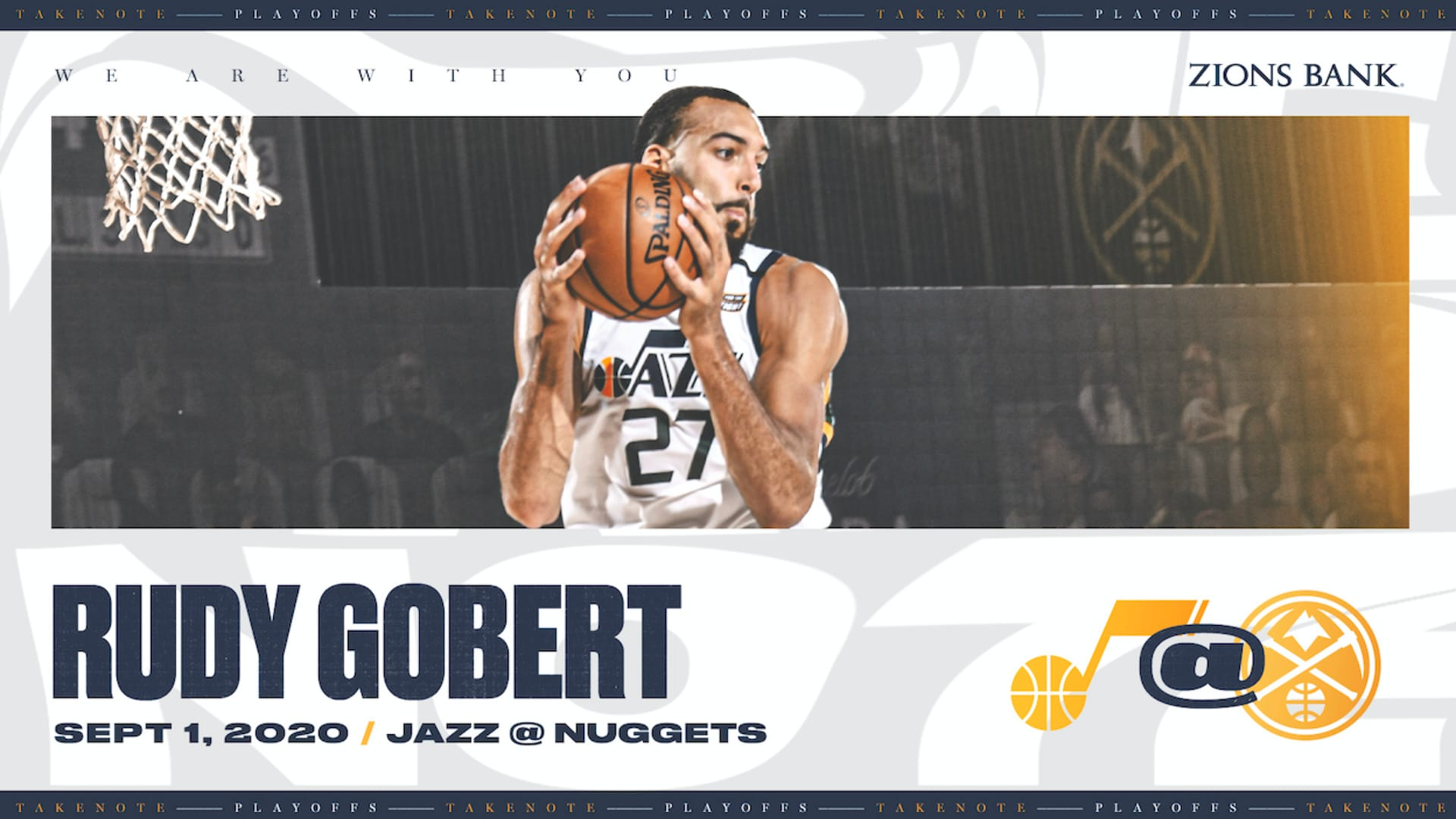 Highlights: Rudy Gobert — 19 points, 18 rebounds