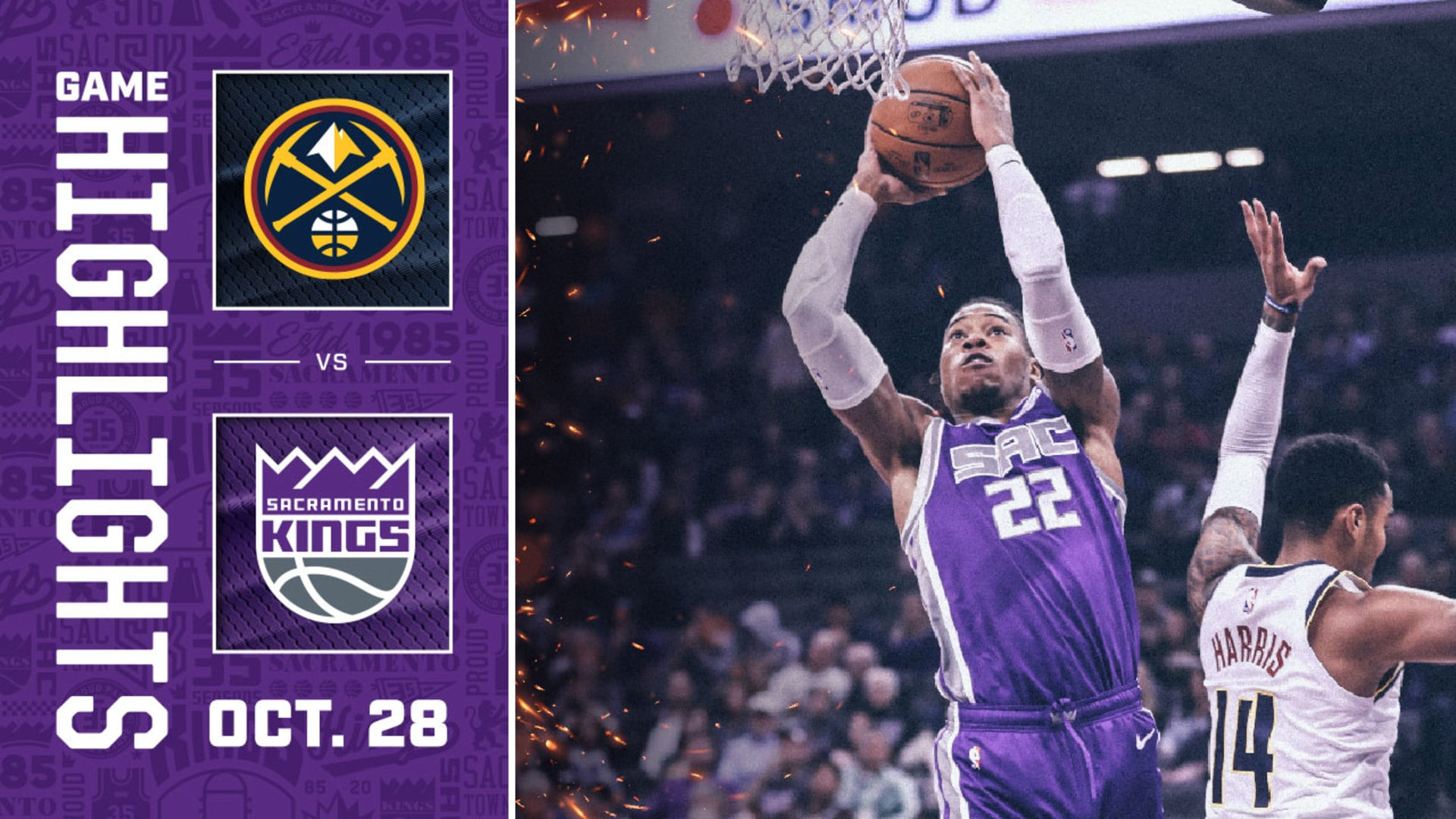 Kings Battle Nuggets in Return to Sacramento | Kings vs Nuggets