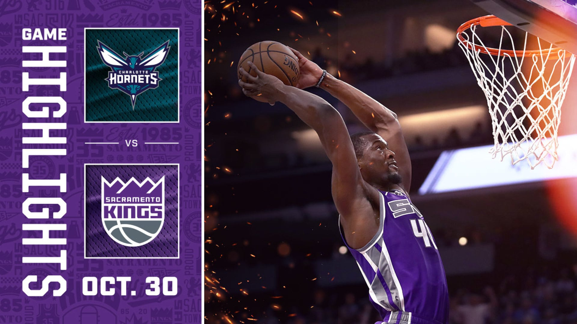 Kings Come Up Short Against Buzz City | Kings vs Hornets
