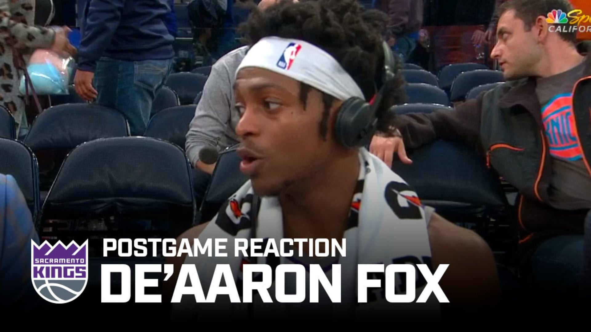 'I Was Thinking About Doing a 360' | De'Aaron Fox Postgame Reaction 11.3.19