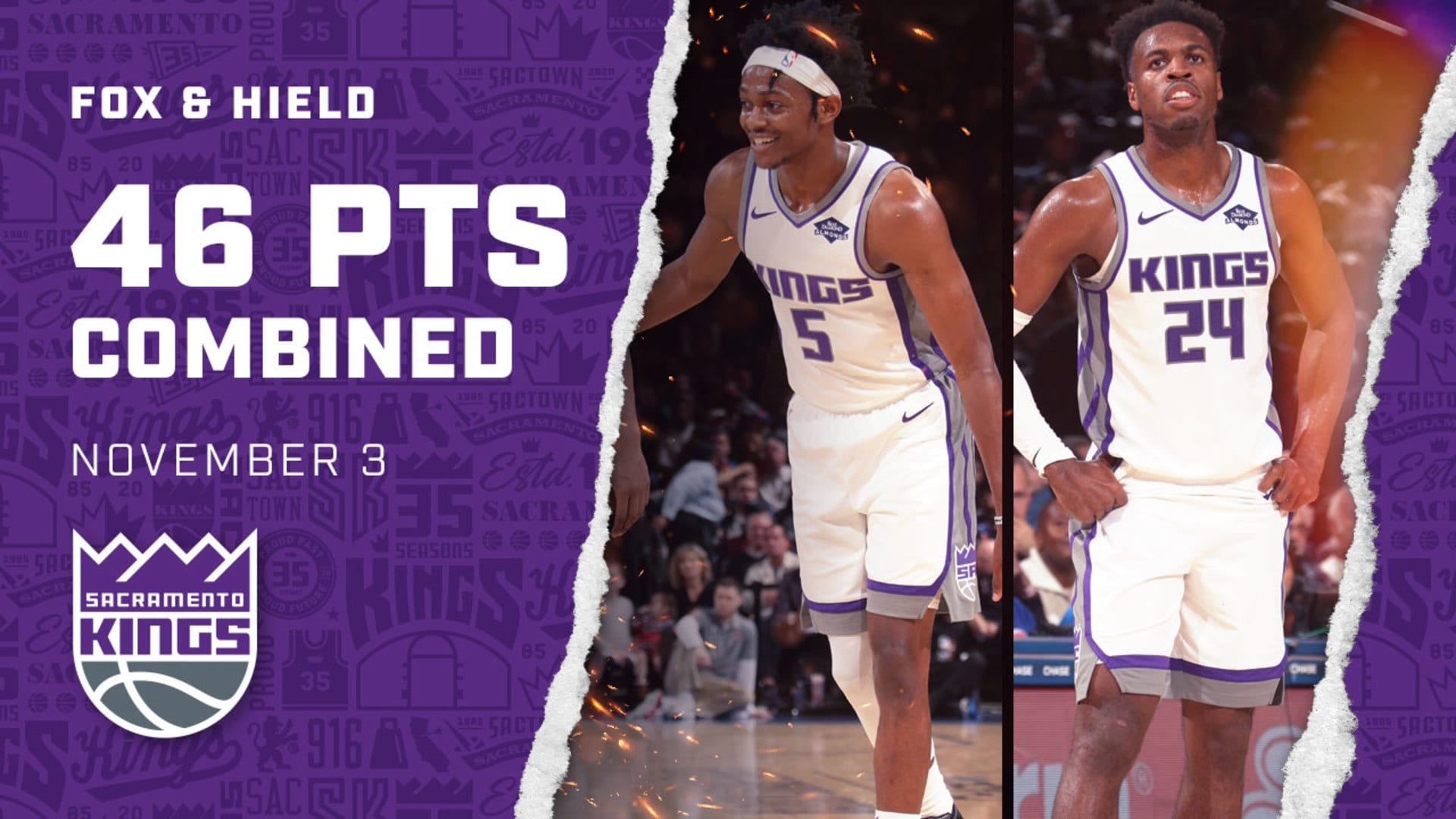 Kings Backcourt Dominates in NYC!