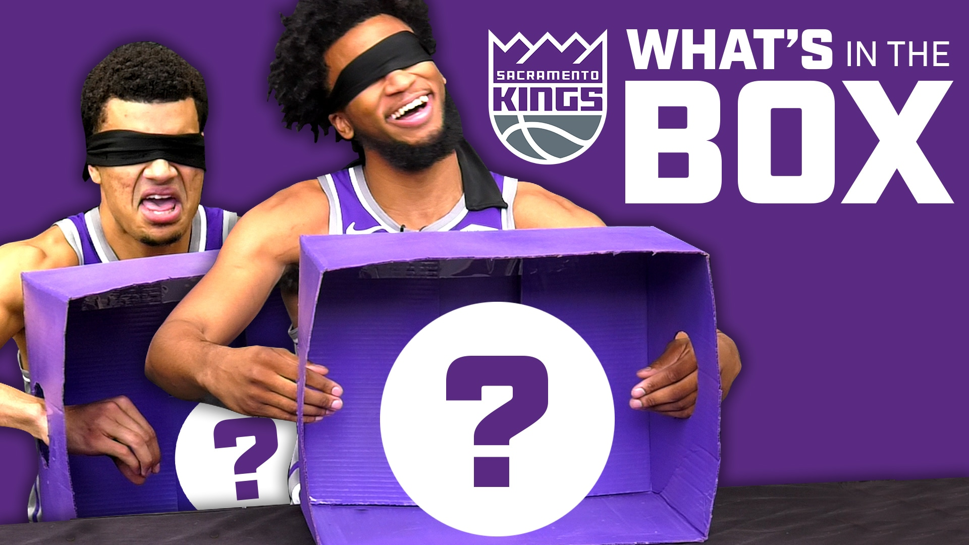 Kings Players FREAK OUT | What's in the Box?