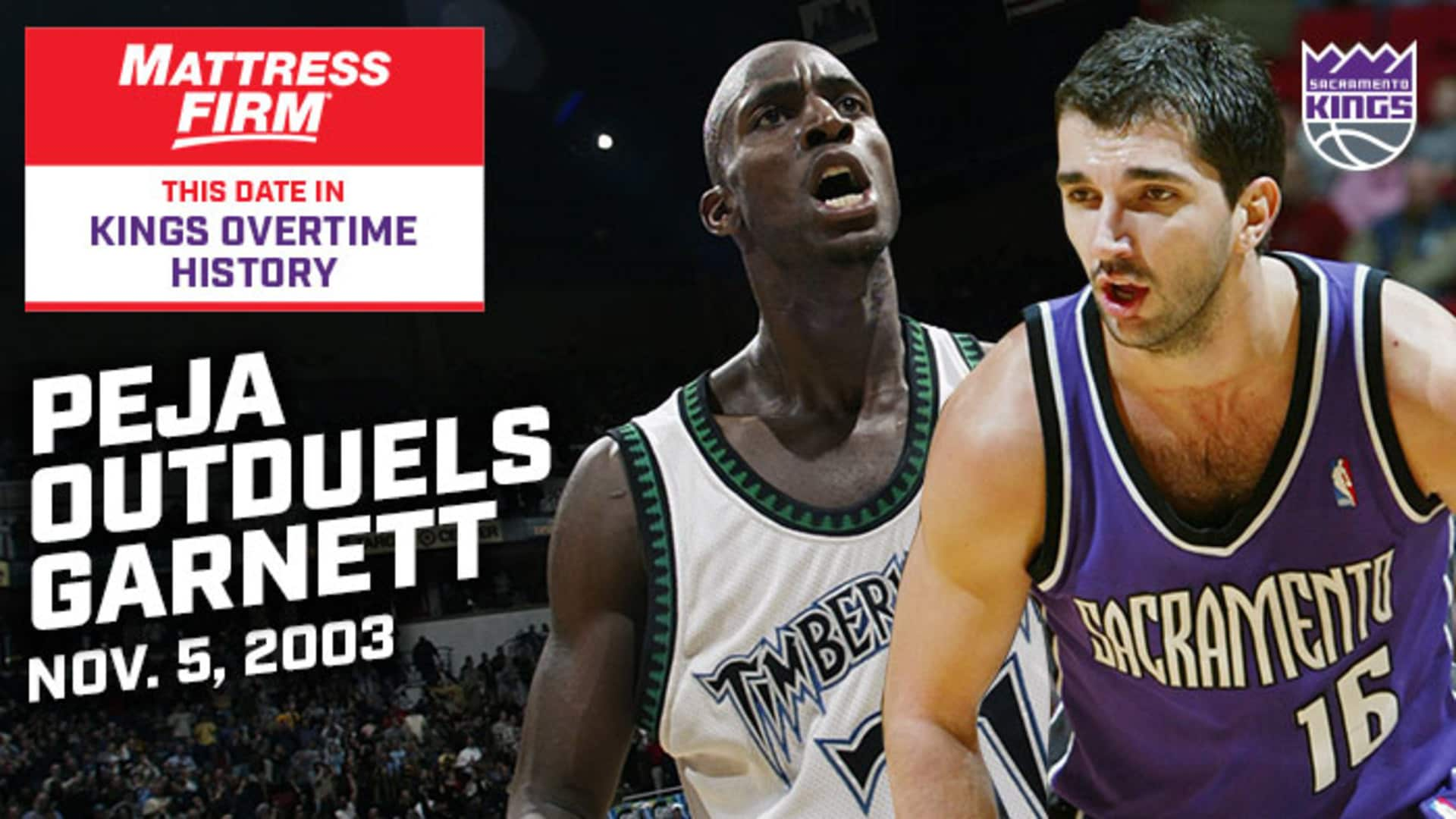 This Date in Kings OT History: Peja Outduels KG | 11.5.03