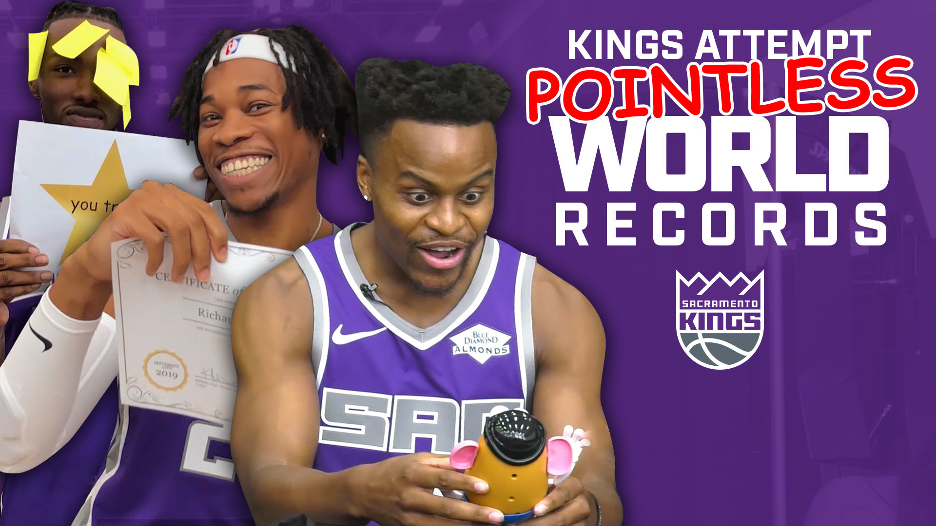 Kings Try to Break POINTLESS World Records!