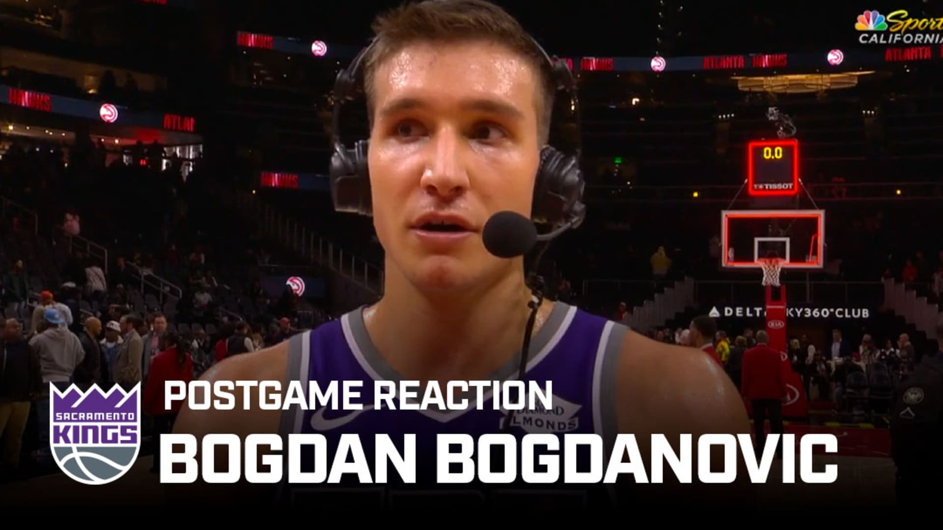 'We Just Have to Be Ready to Play' | Bogdan Bogdanovic Postgame Reaction 11.3.19