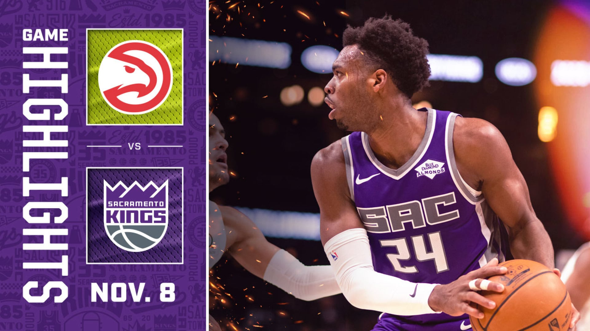 Kings Close Out Road Swing in Strong Fashion | Kings vs Hawks Highlights