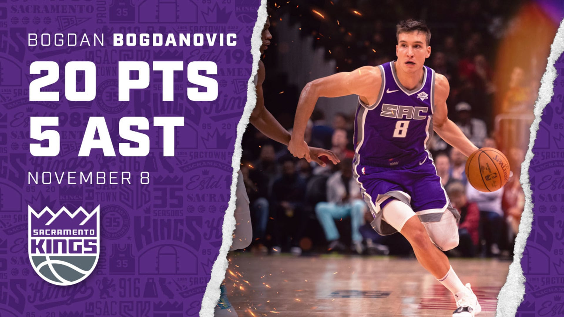 Bogi Comes Up Big in Kings Win Over Atlanta