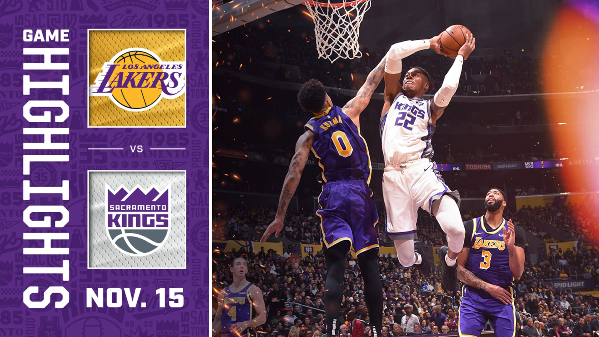 Kings & Lakers Goes Down to the Wire! | Kings vs Lakers Highlights
