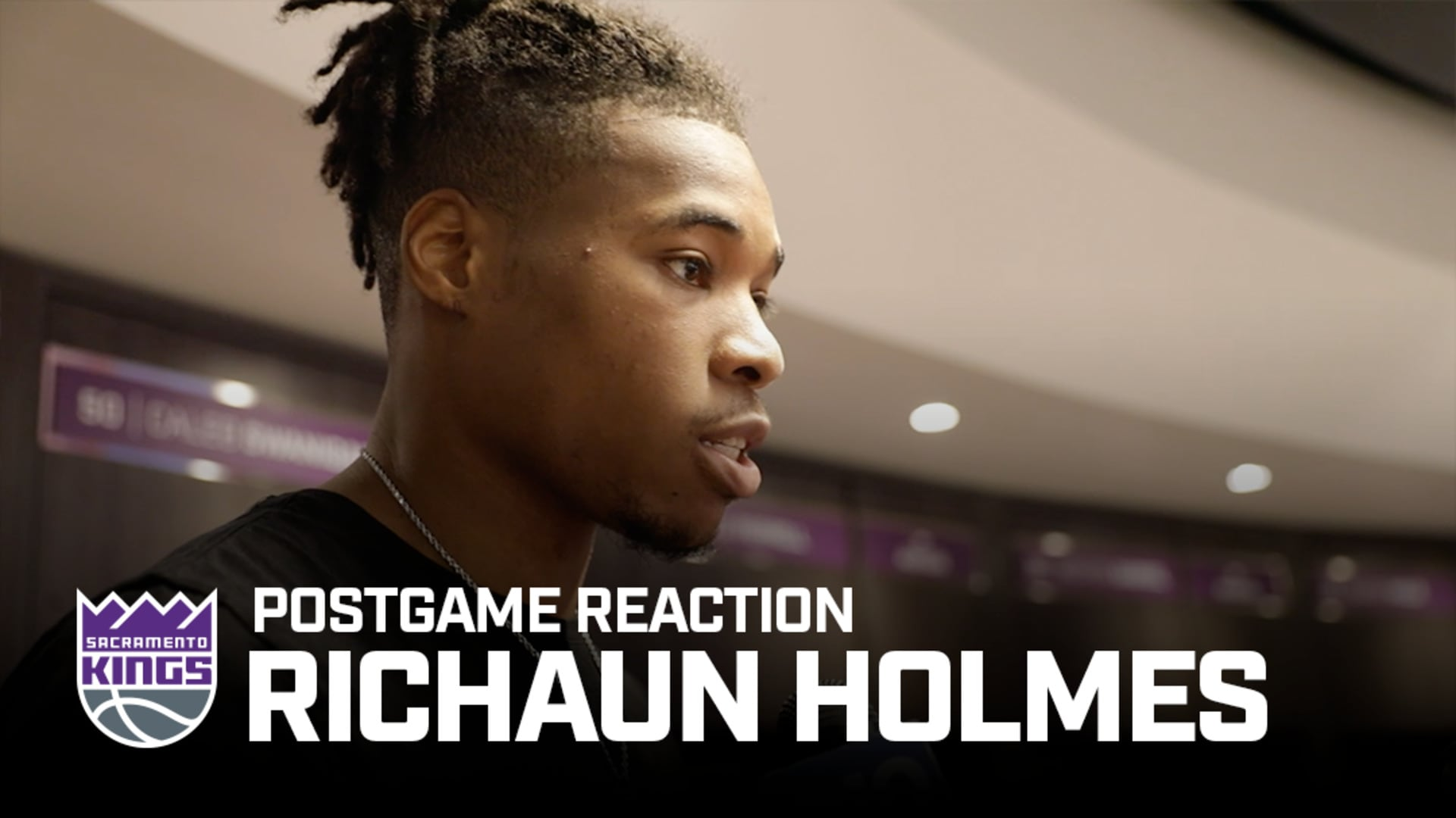 'It's a great win against a great team.' | Richaun Holmes Postgame Reaction 11.17.19