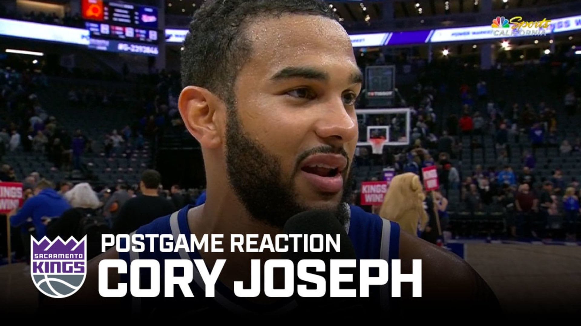 'I Do Whatever It Takes for Our Team to Win' | Cory Joseph Postgame Reaction 11.19.19