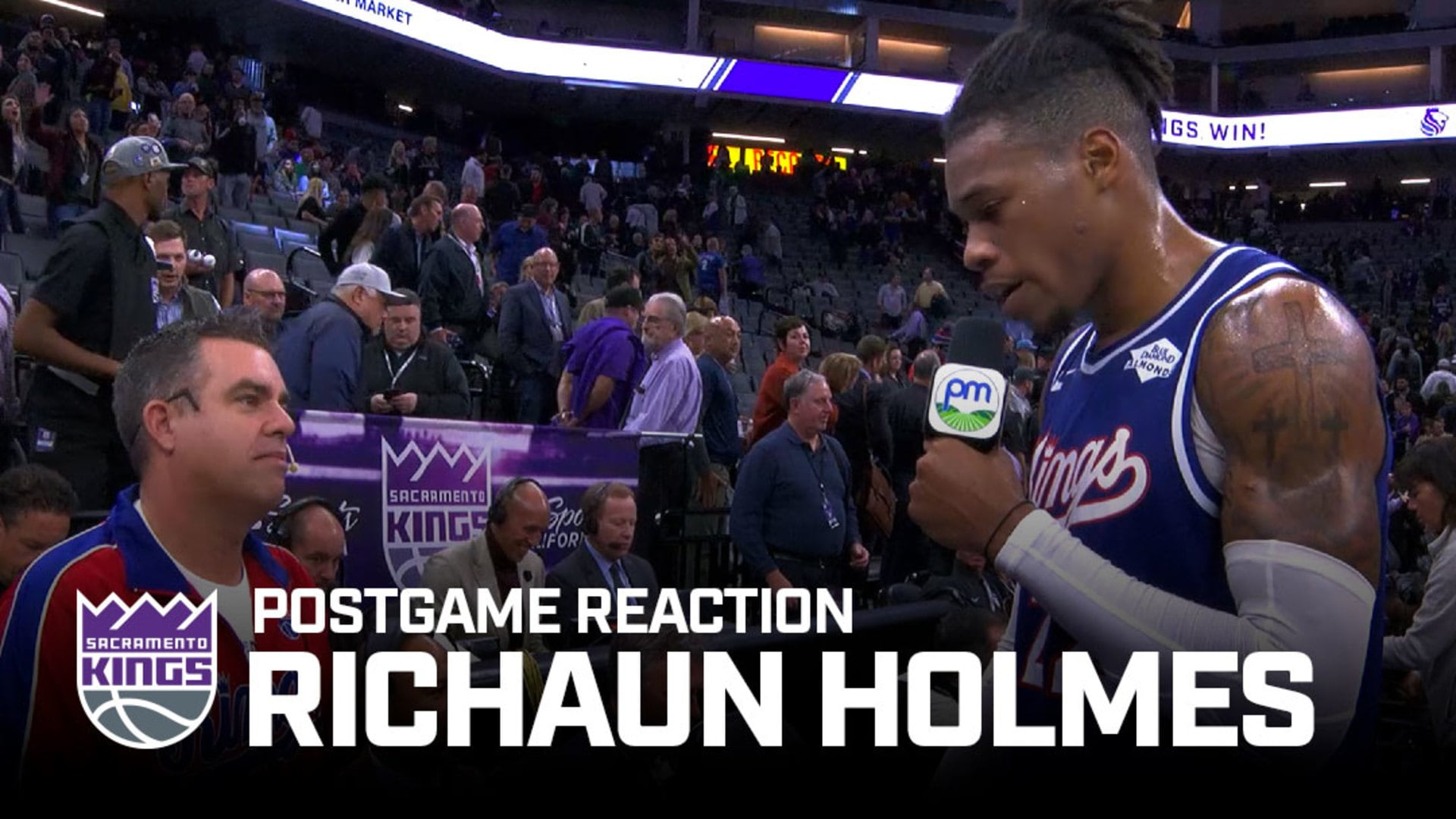 'These Fans Bring It Every Night' | Richaun Holmes Postgame Reaction 11.19.19