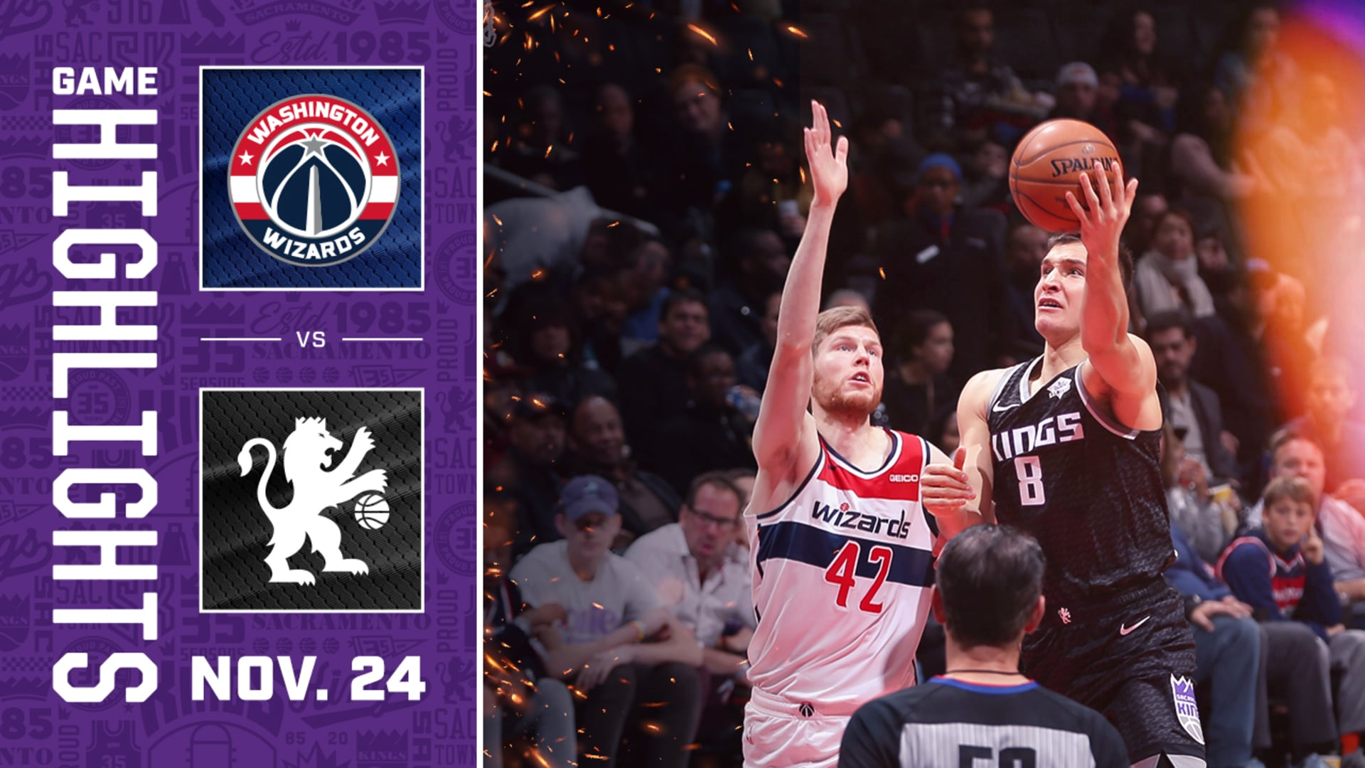 Kings Bring the Heat in WIN Over Washington! | Kings vs Wizards Highlights