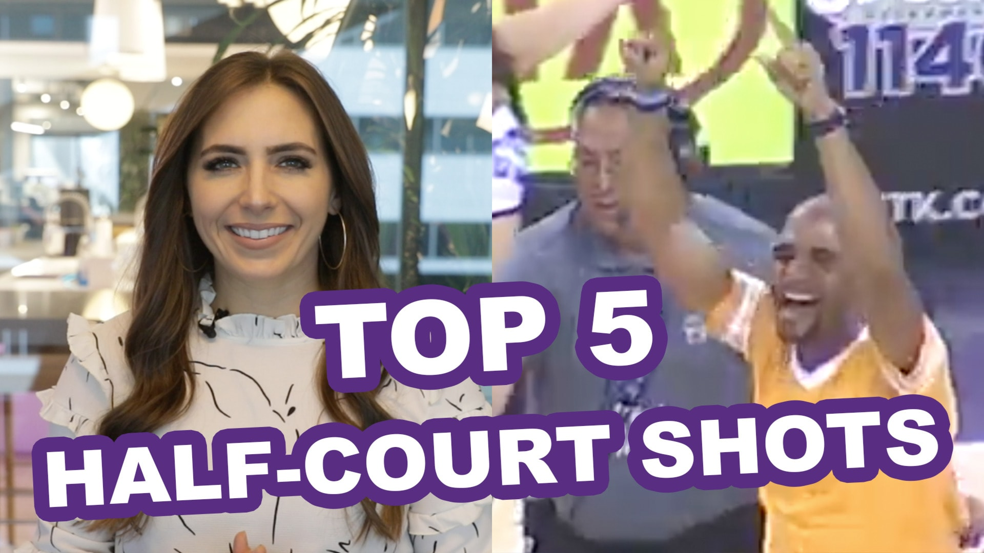 Top 5 Half-Court Shots in Kings History