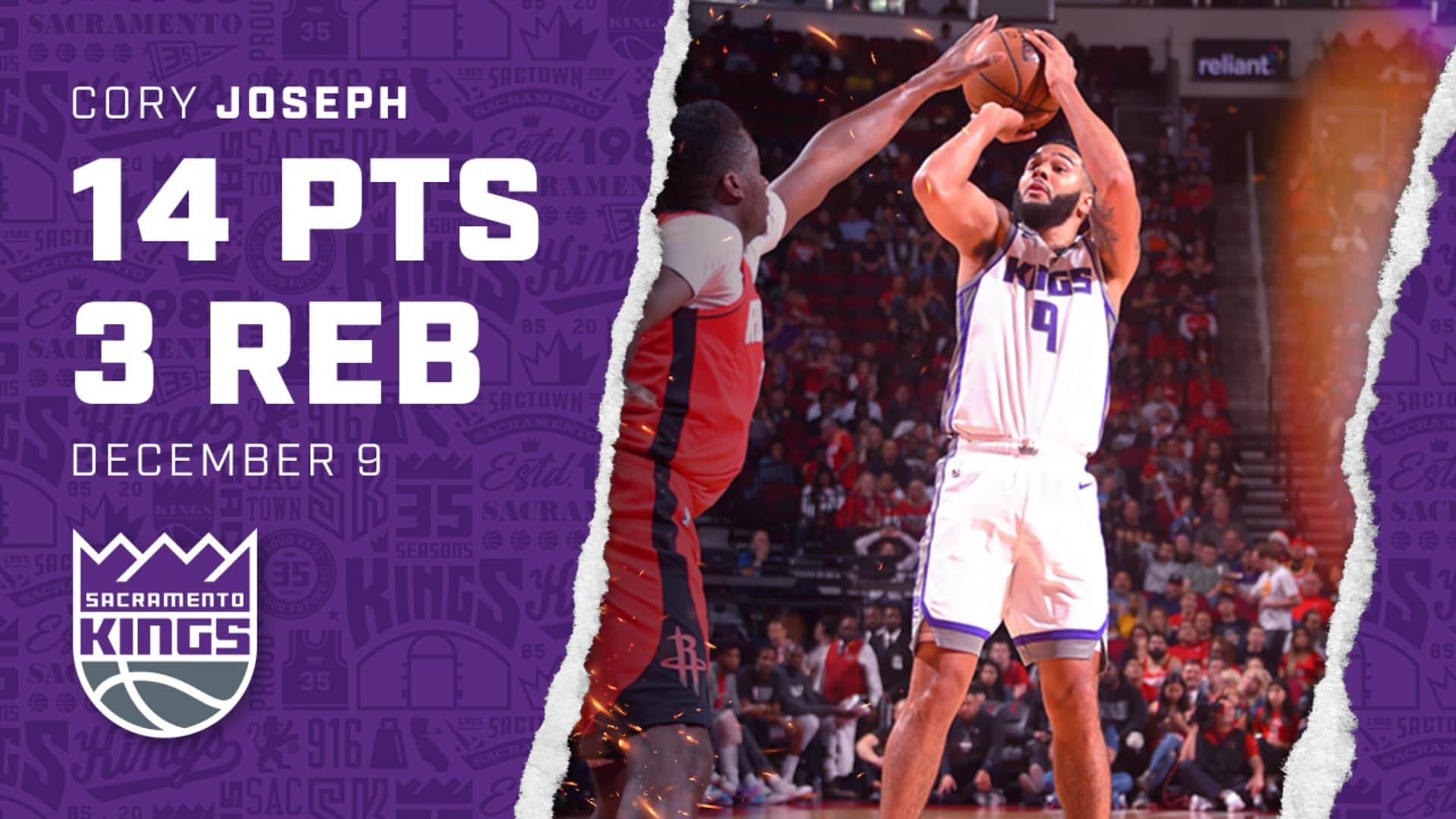 Cory Joe Helps Lead Kings to Huge W in Houston | Kings vs Rockets