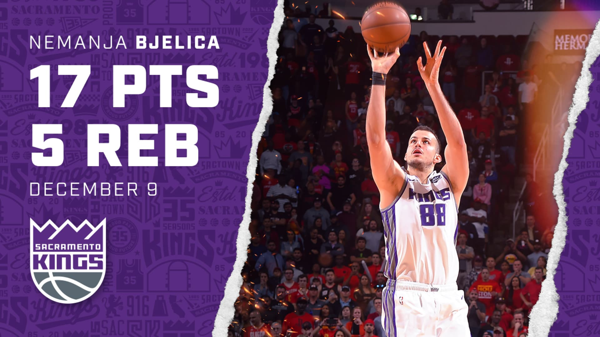 Nemanja Shoots Game-Winning 3, Seals Another Exciting Win | Kings vs Rockets