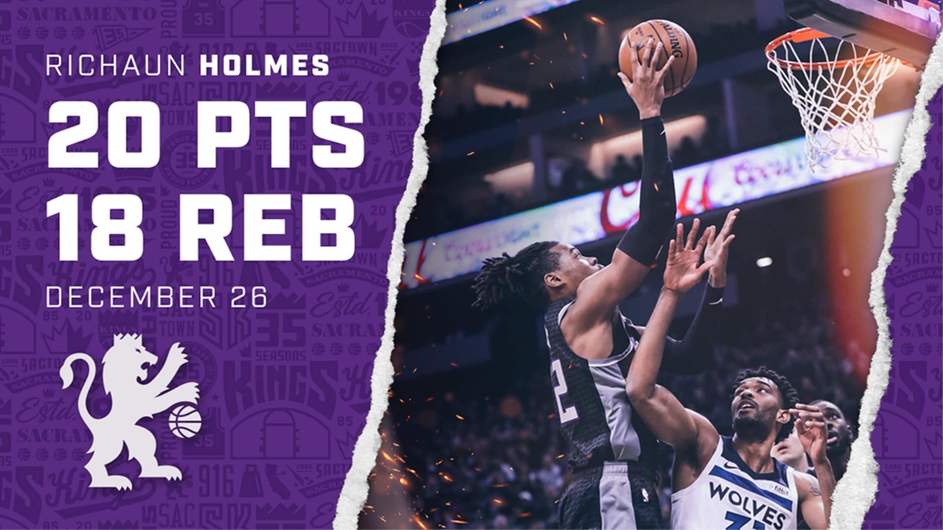 A CAREER-NIGHT for Holmes | Kings vs Timberwolves