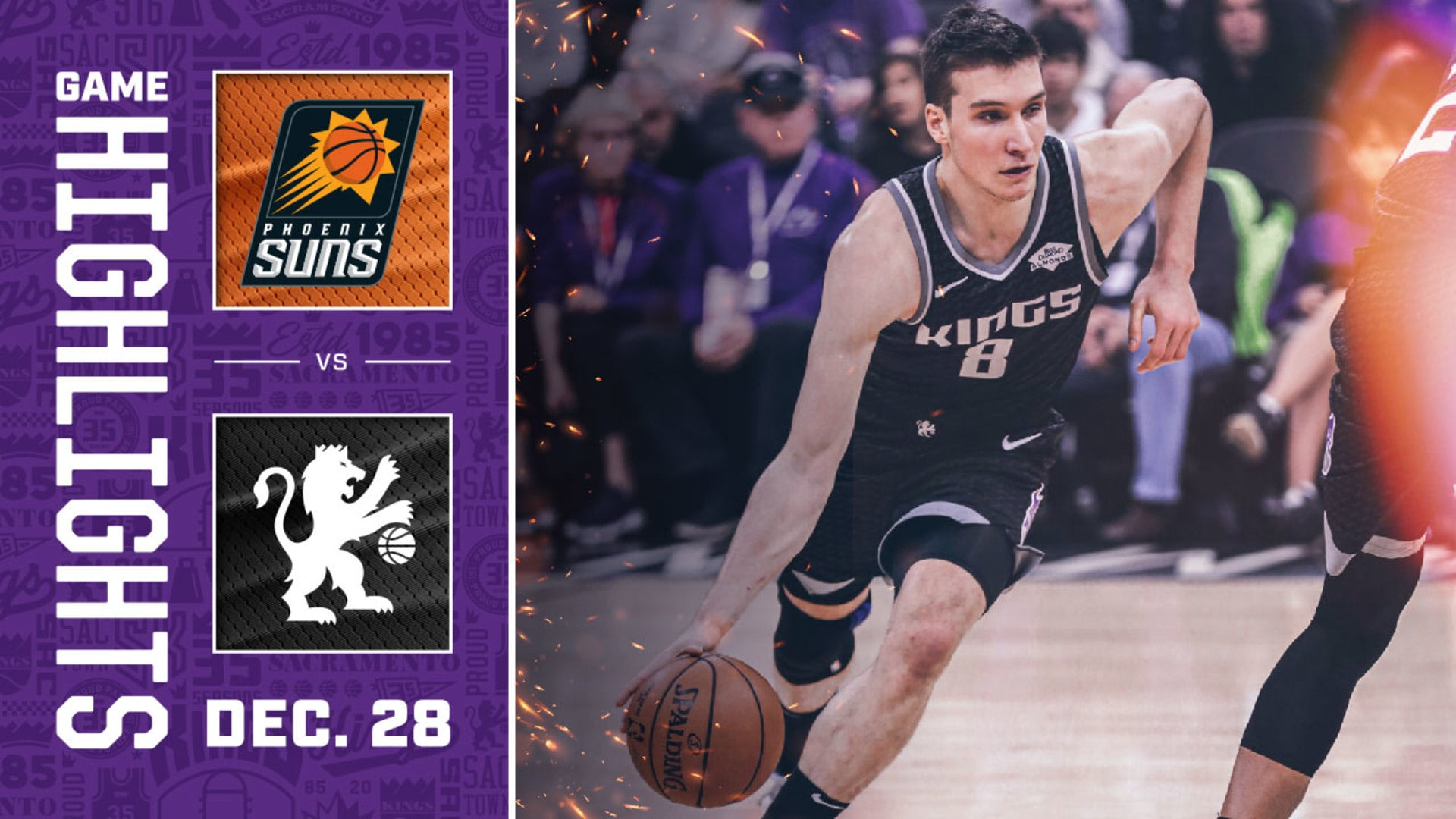 Kings Battle Suns to the Last Shot | Kings vs Suns