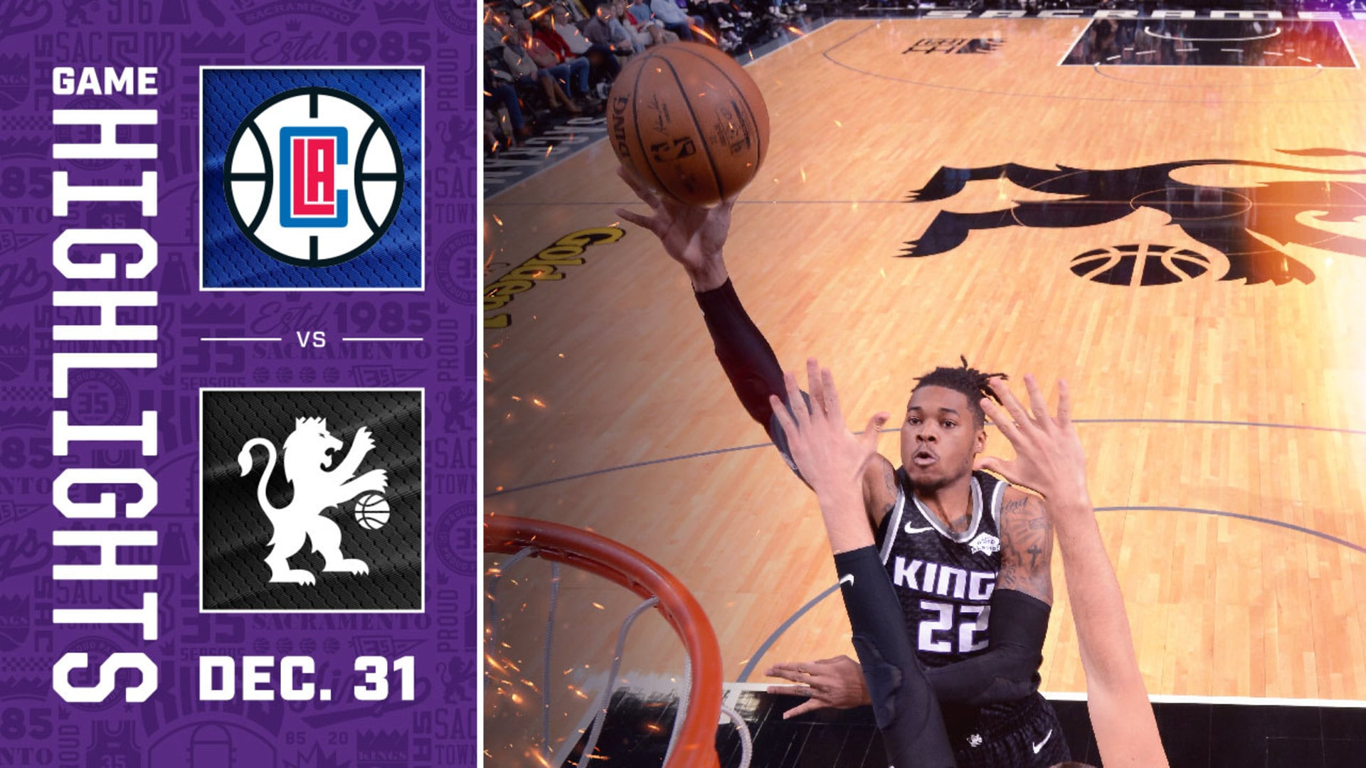 Kings Battle Clippers to End the Decade | Kings vs Clippers