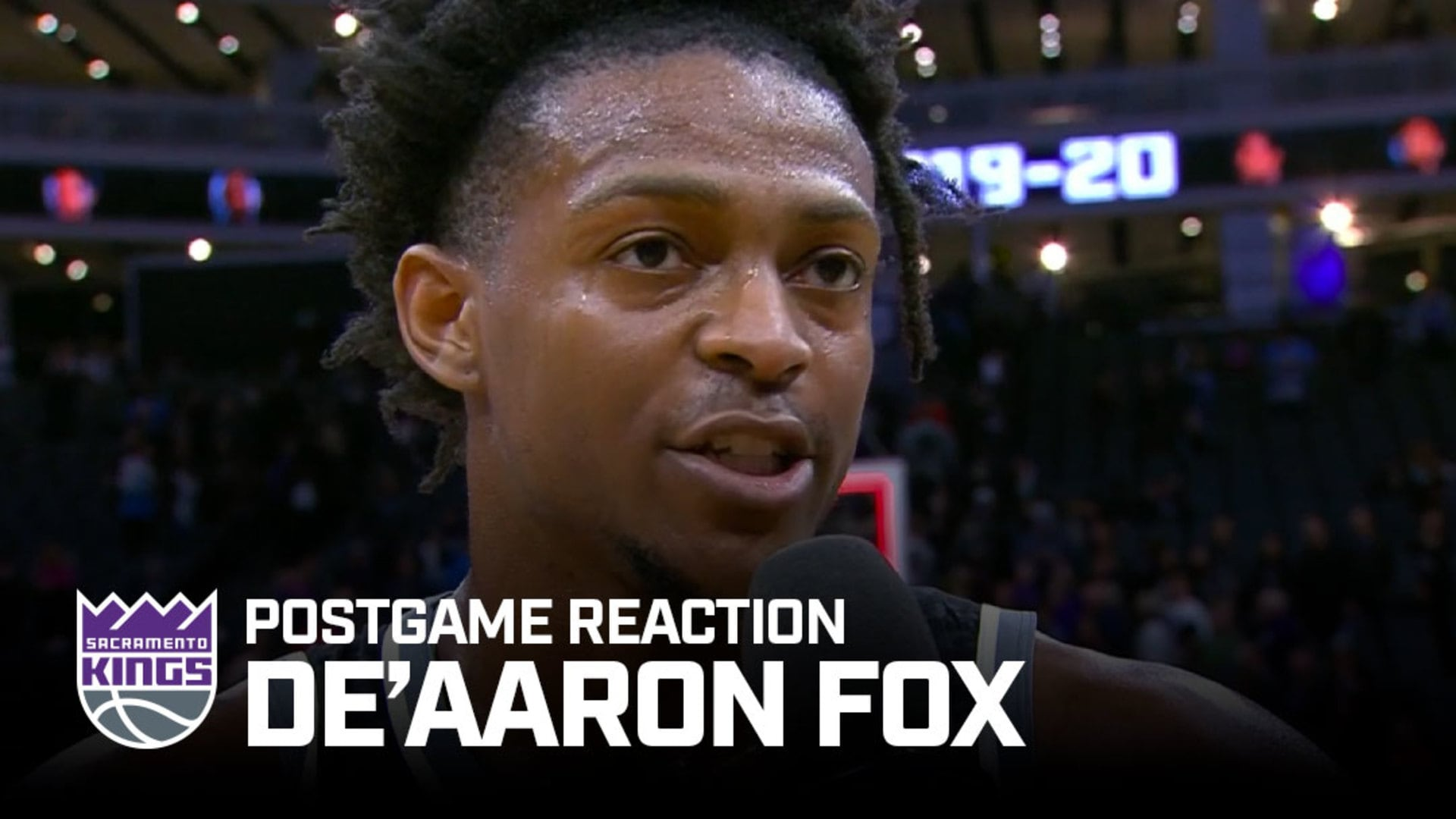 'This is Just the Beginning' | De'Aaron Fox Postgame Reaction 1.2.20