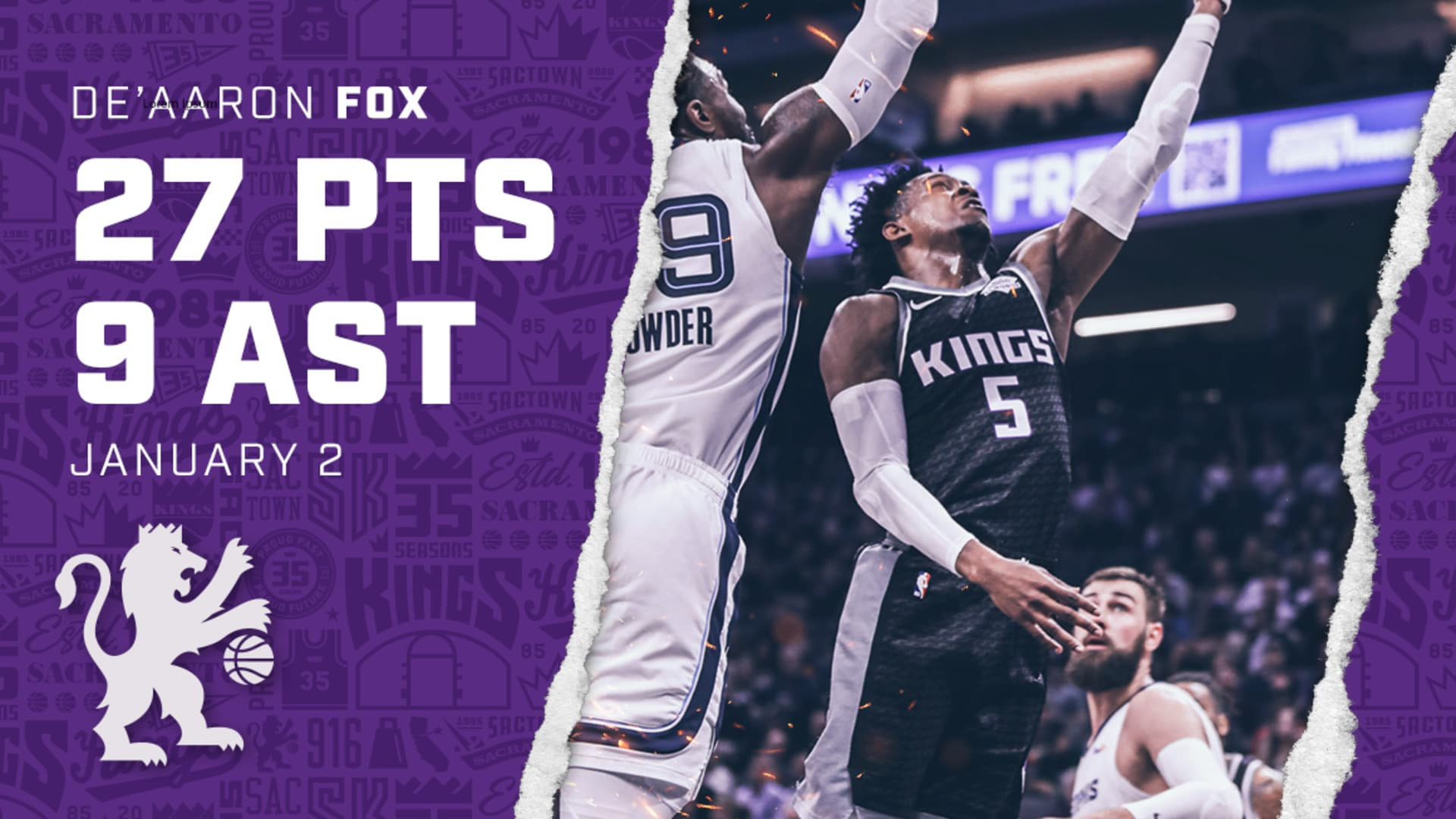 De'Aaron Fox Puts Up 27 PTS in a Comeback WIN! | Kings vs Grizzlies