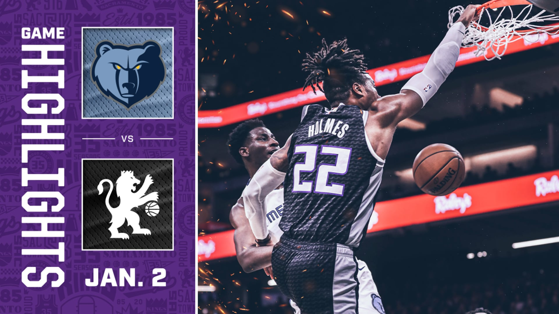 Kings Open 2020 with Win! | Kings vs Grizzlies