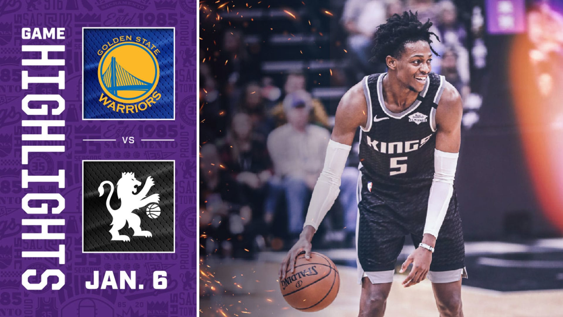 Kings Rout Warriors to Get Back in the W Column | Kings vs Warriors