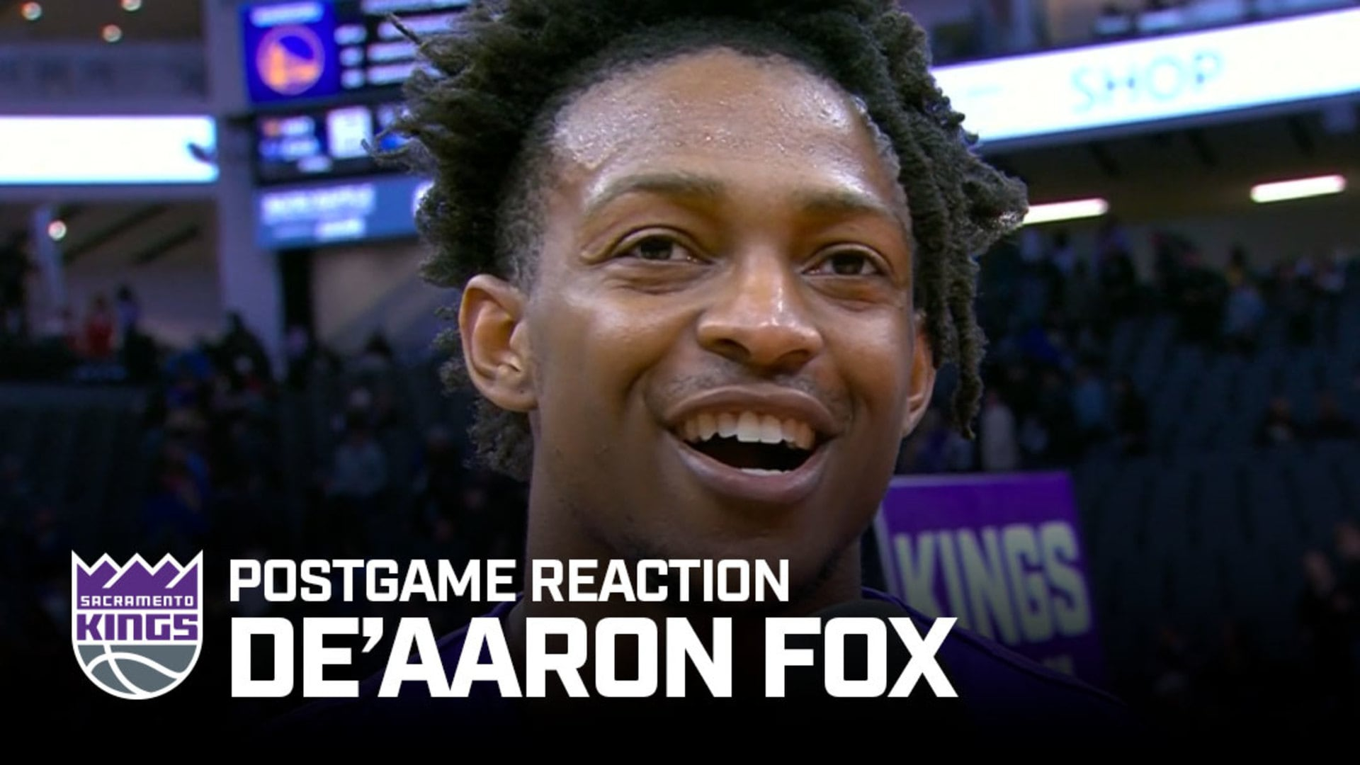 'I Just Came in Extremely Focused' | De'Aaron Fox Postgame Reaction 1.6.20