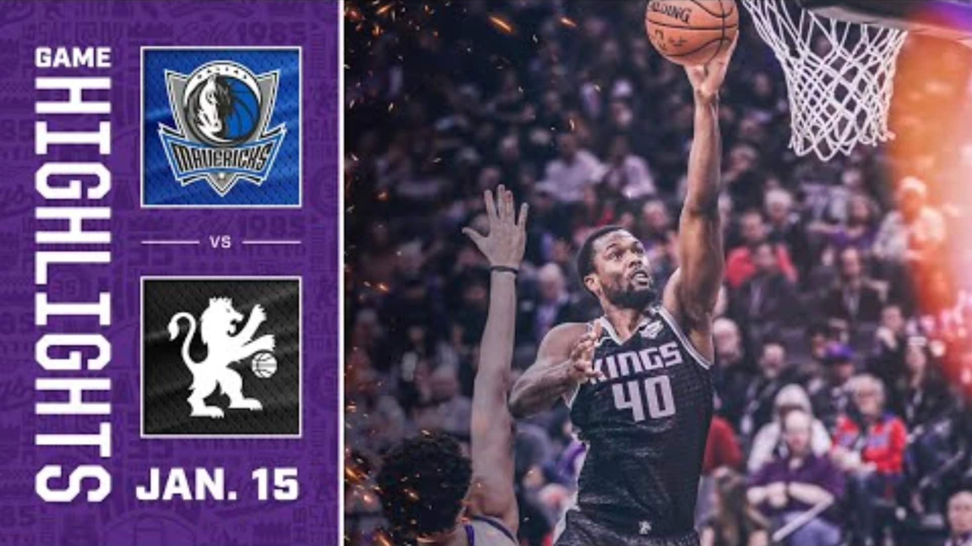 Kings Duel with Dallas | Kings vs. Mavericks 1.15.20