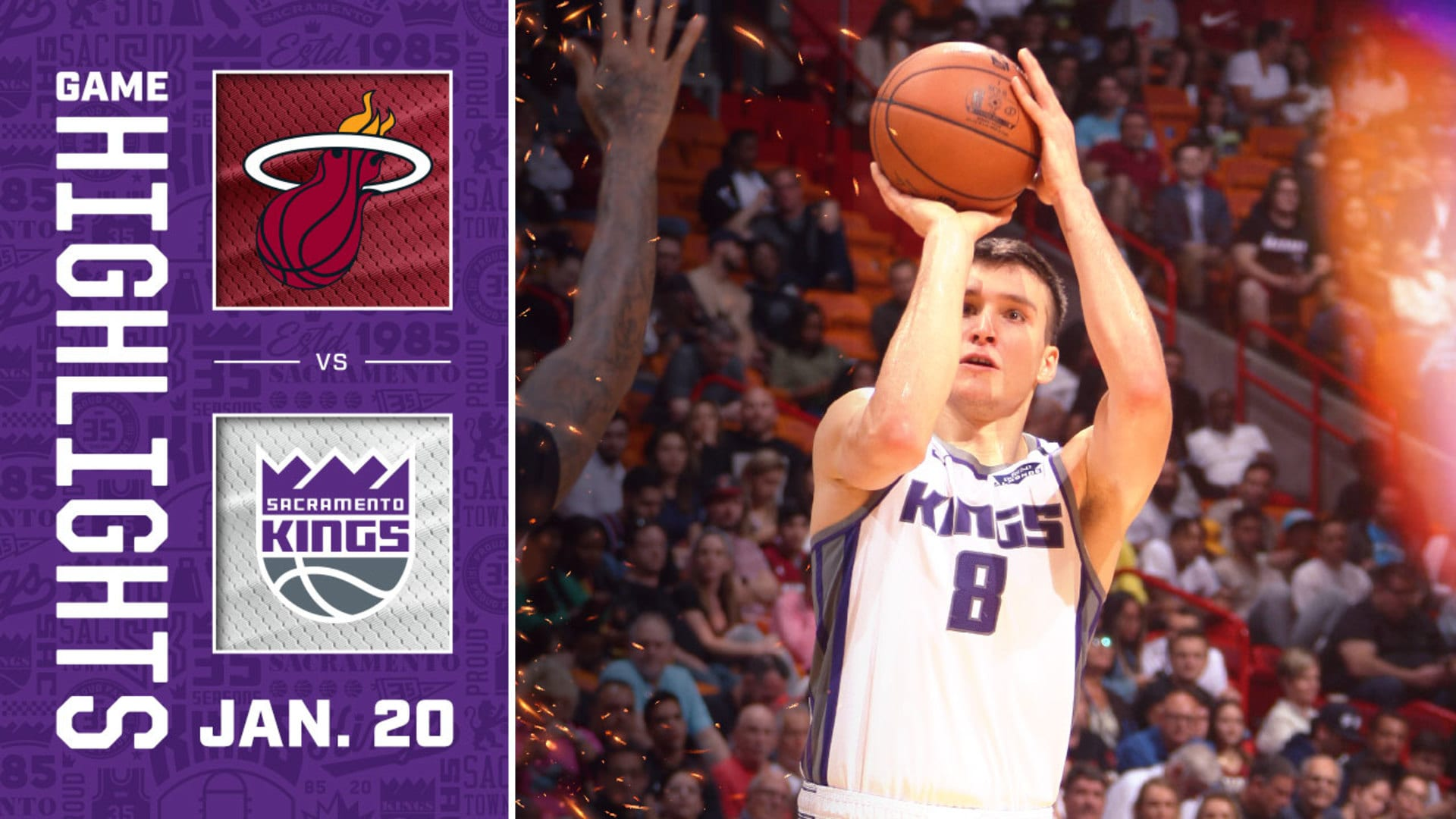 Kings Take Heat to OT in South Beach Thriller | Kings vs Heat