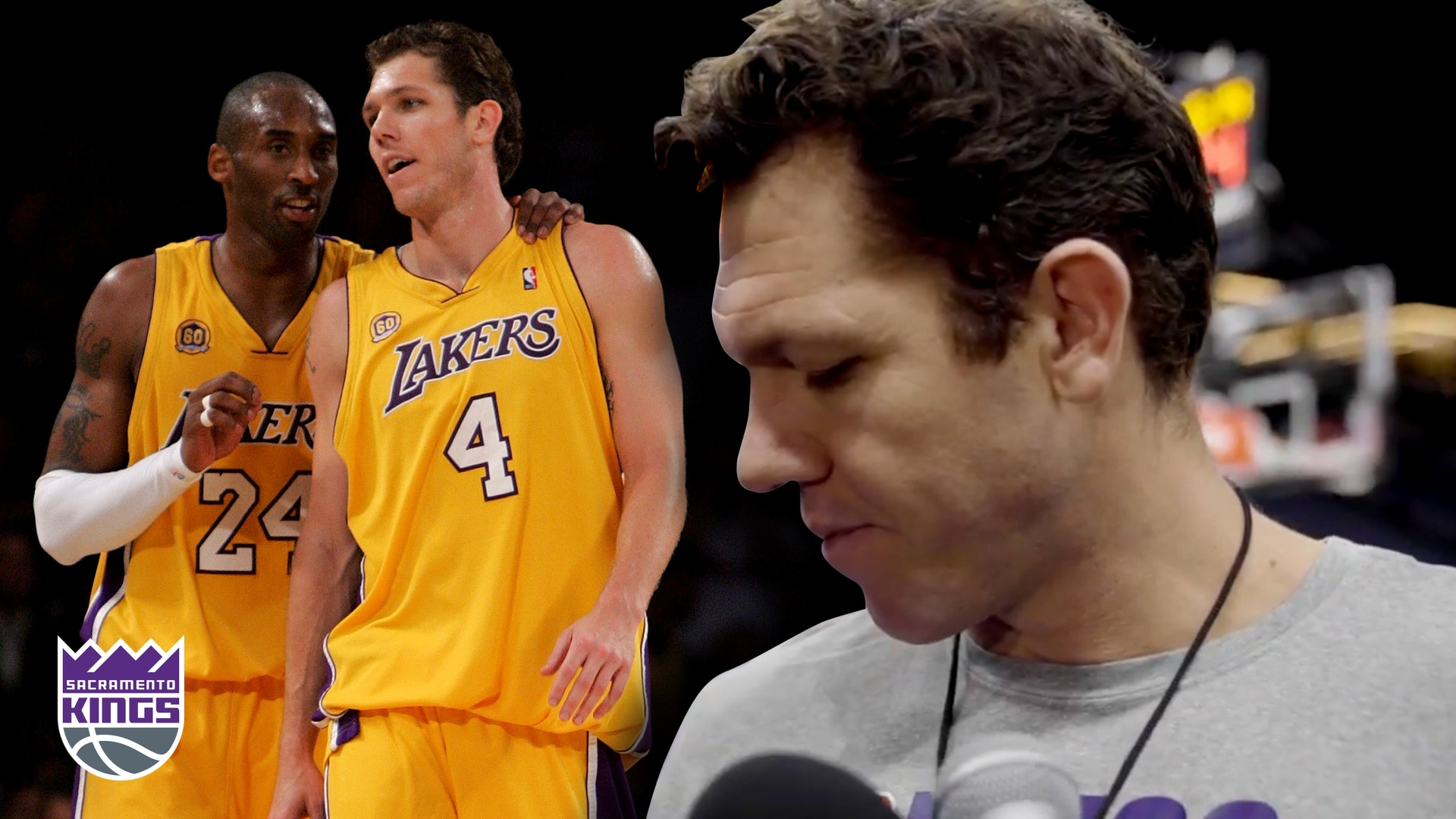 Luke Walton Remembers Kobe Bryant