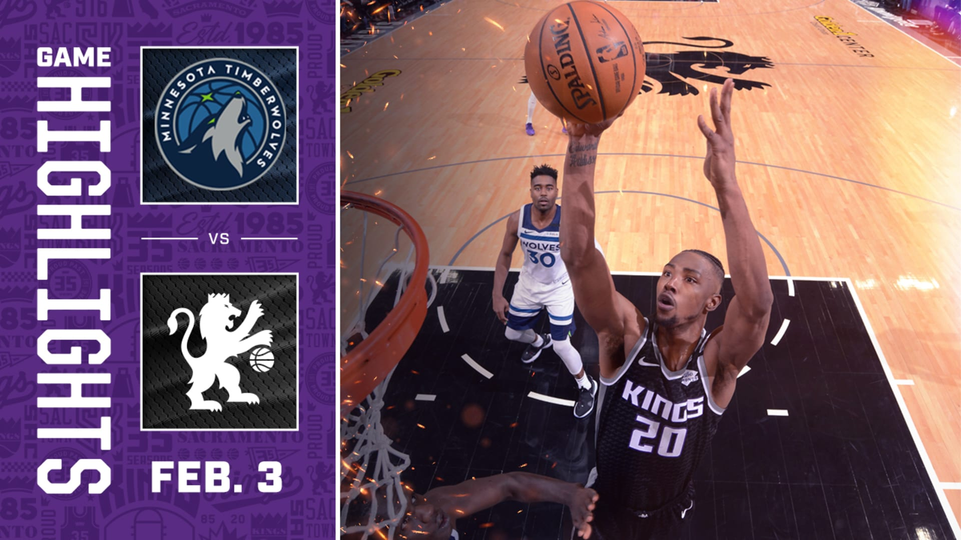 Kings Get Back on Track with Win Over Minnesota   Kings vs Timberwolves 02.03.20