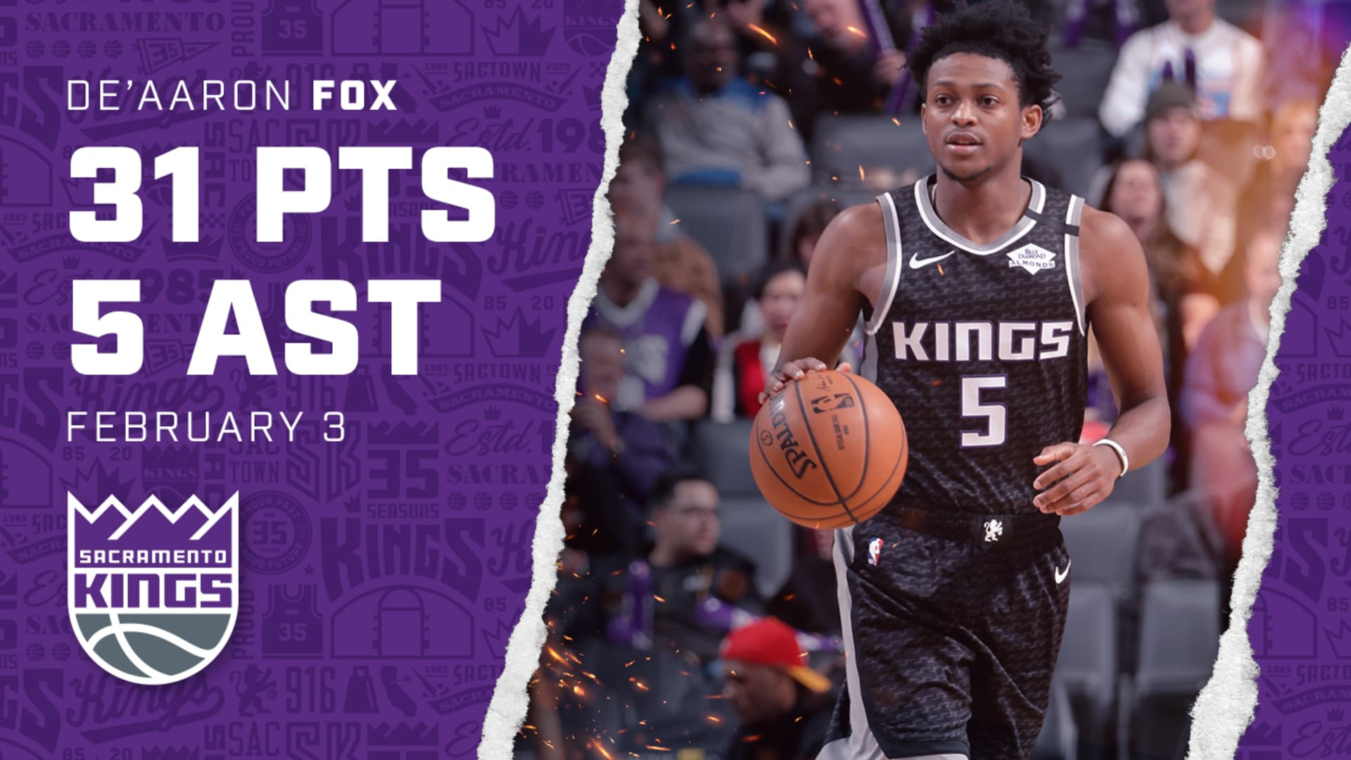 Fox Finishes Strong in Timberwolves Contest   Kings vs Timberwolves 02.03.20