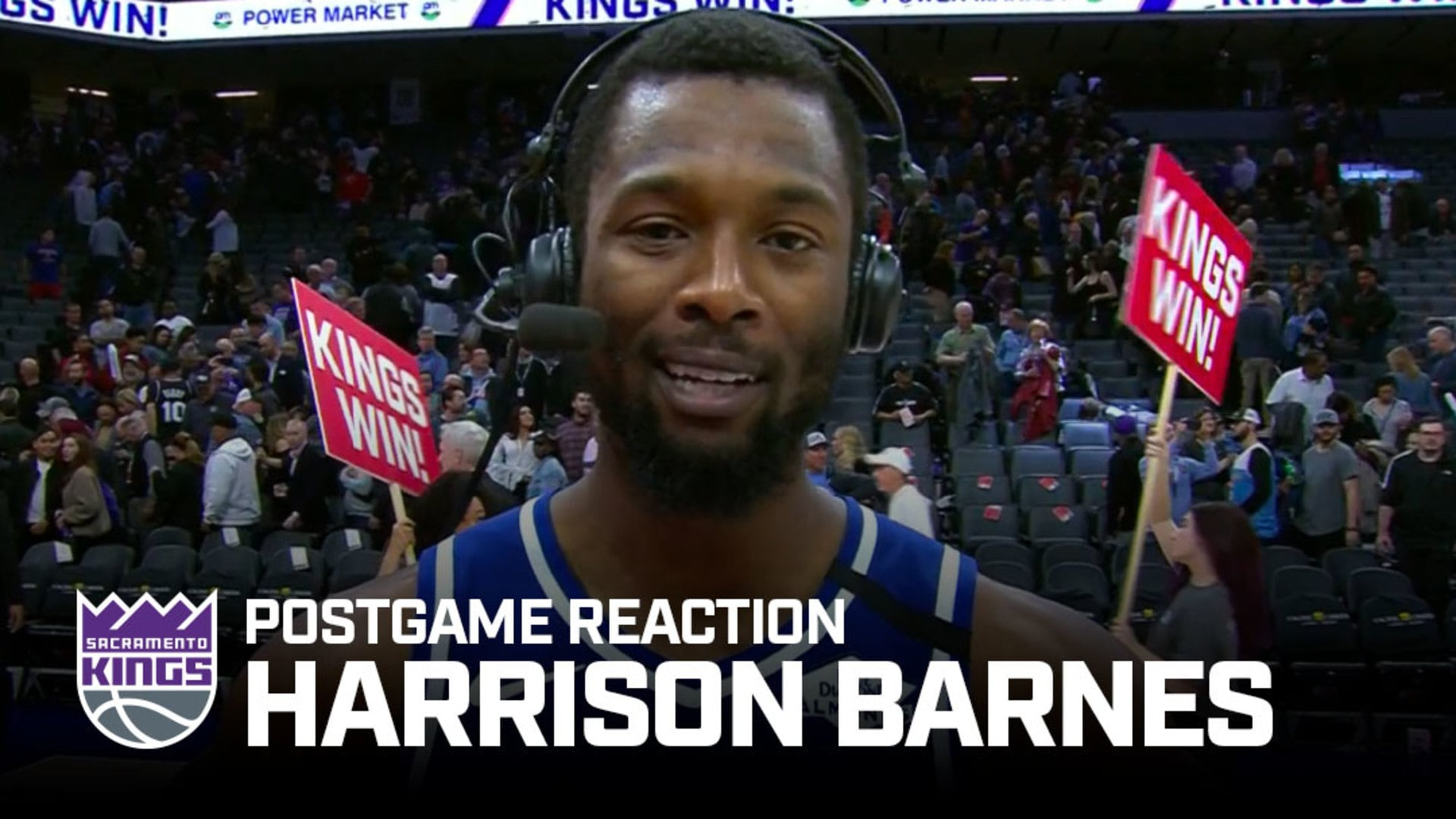 'I Was Just Trying to Let it Fly' | Harrison Barnes Postgame Reaction 2.20.20