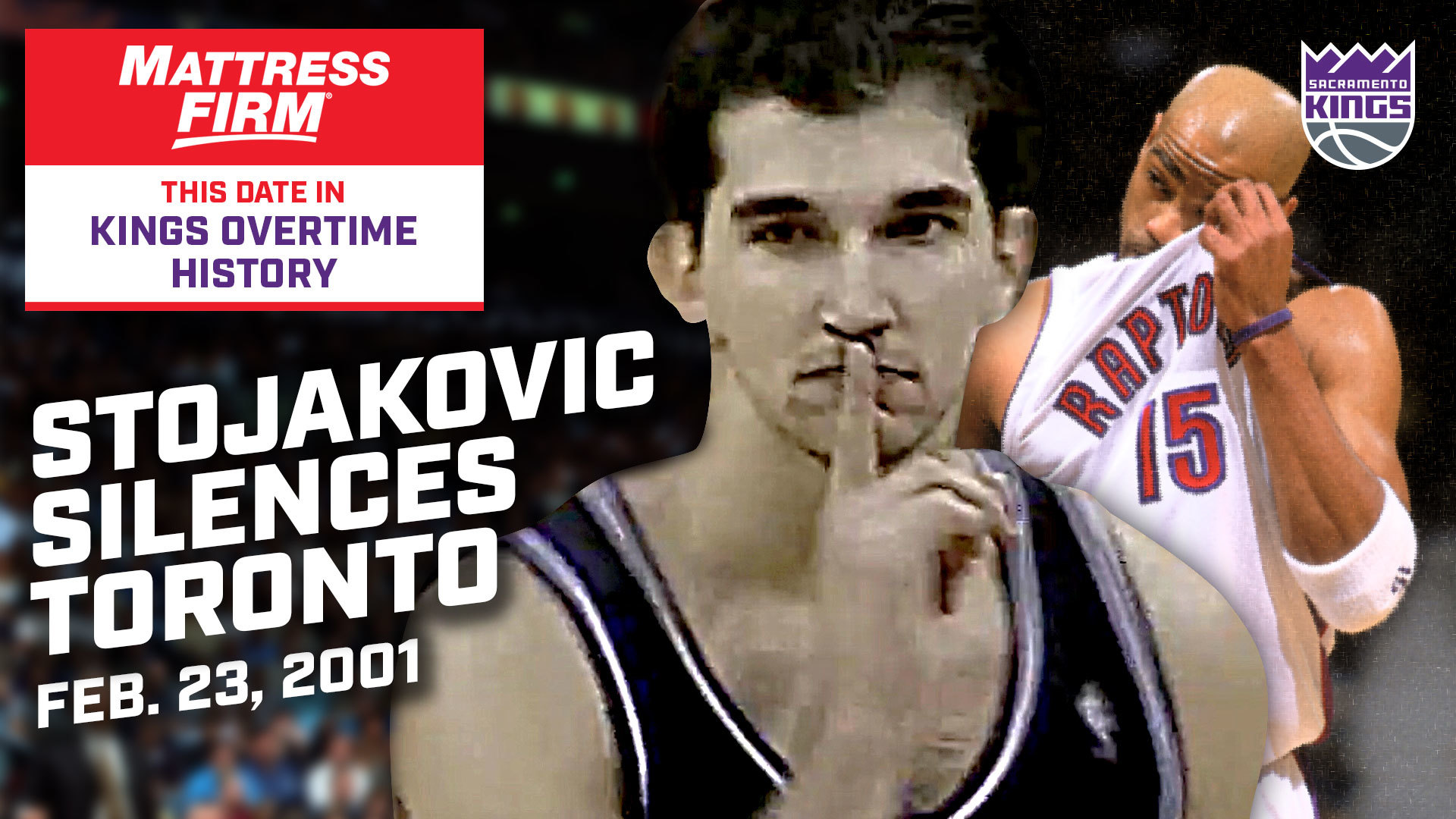 This Date in Kings OT History: Stojakovic Silences Toronto