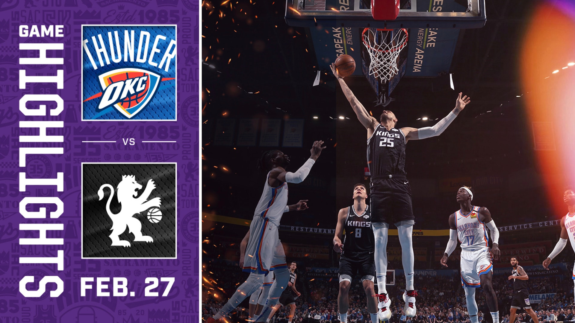Sacramento Kings Highlights vs. Oklahoma City Thunder.mp4