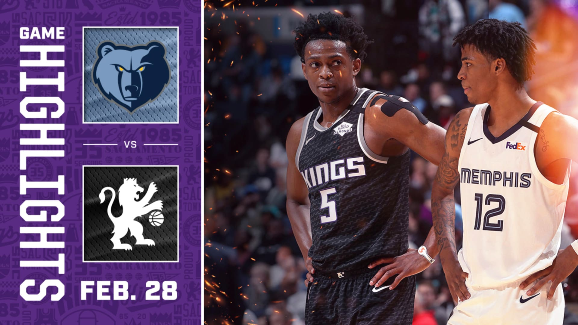 Kings Complete the Road Trip with a WIN | Kings vs Grizzlies
