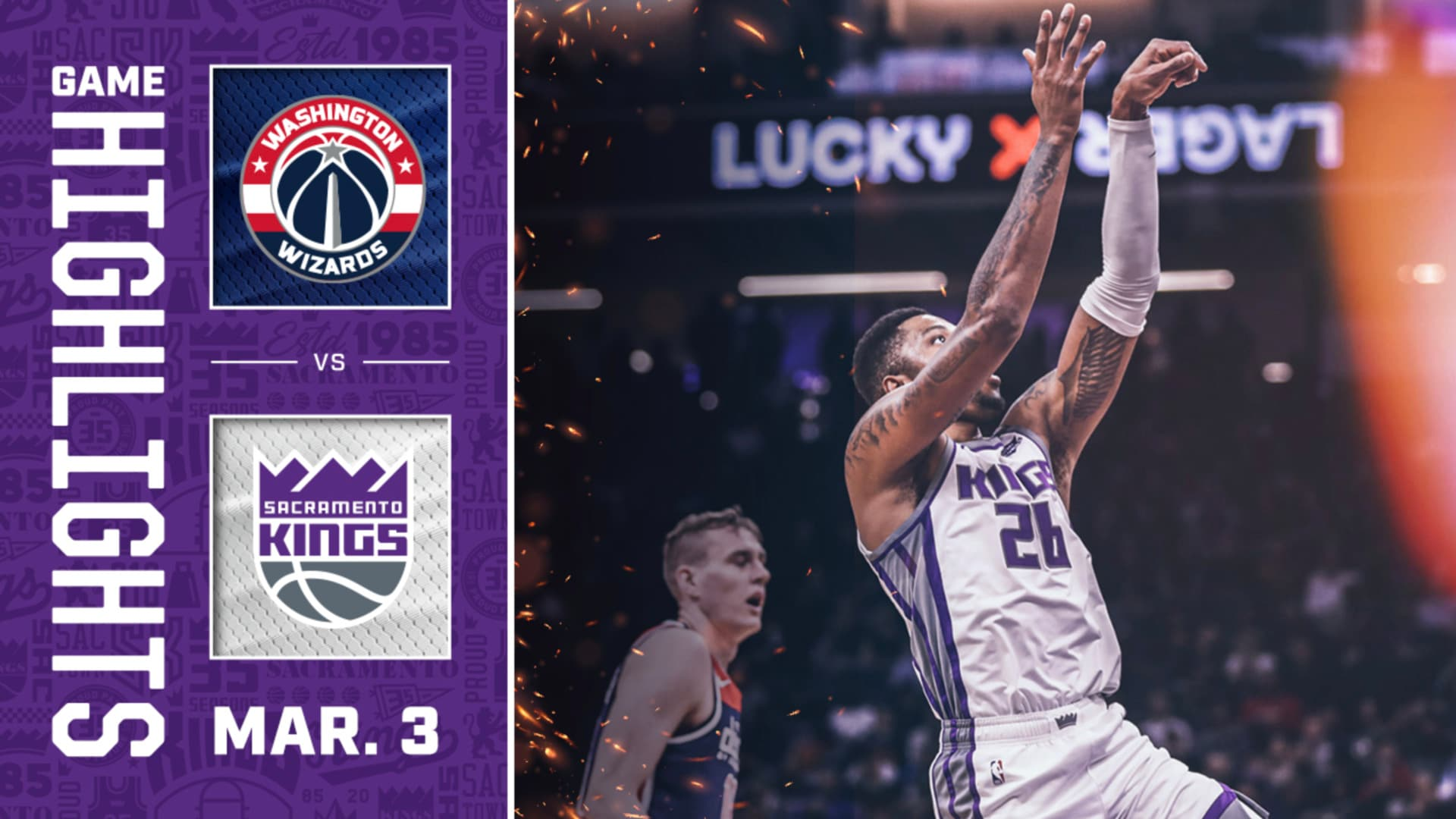 Kings Hold Off Wiz for Crucial Win! | Kings vs Wizards